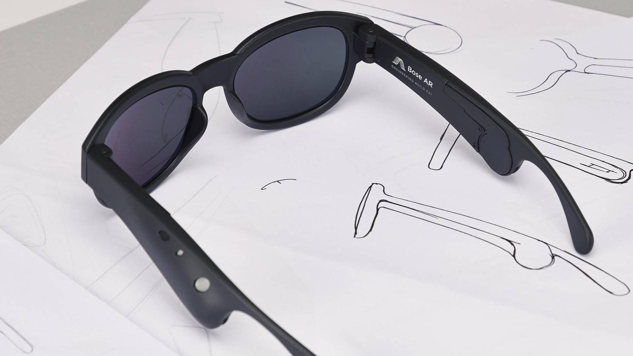 Die Bose AR unterscheidet sich grundlegend von jeder anderen Augmented-Reality-Brille.