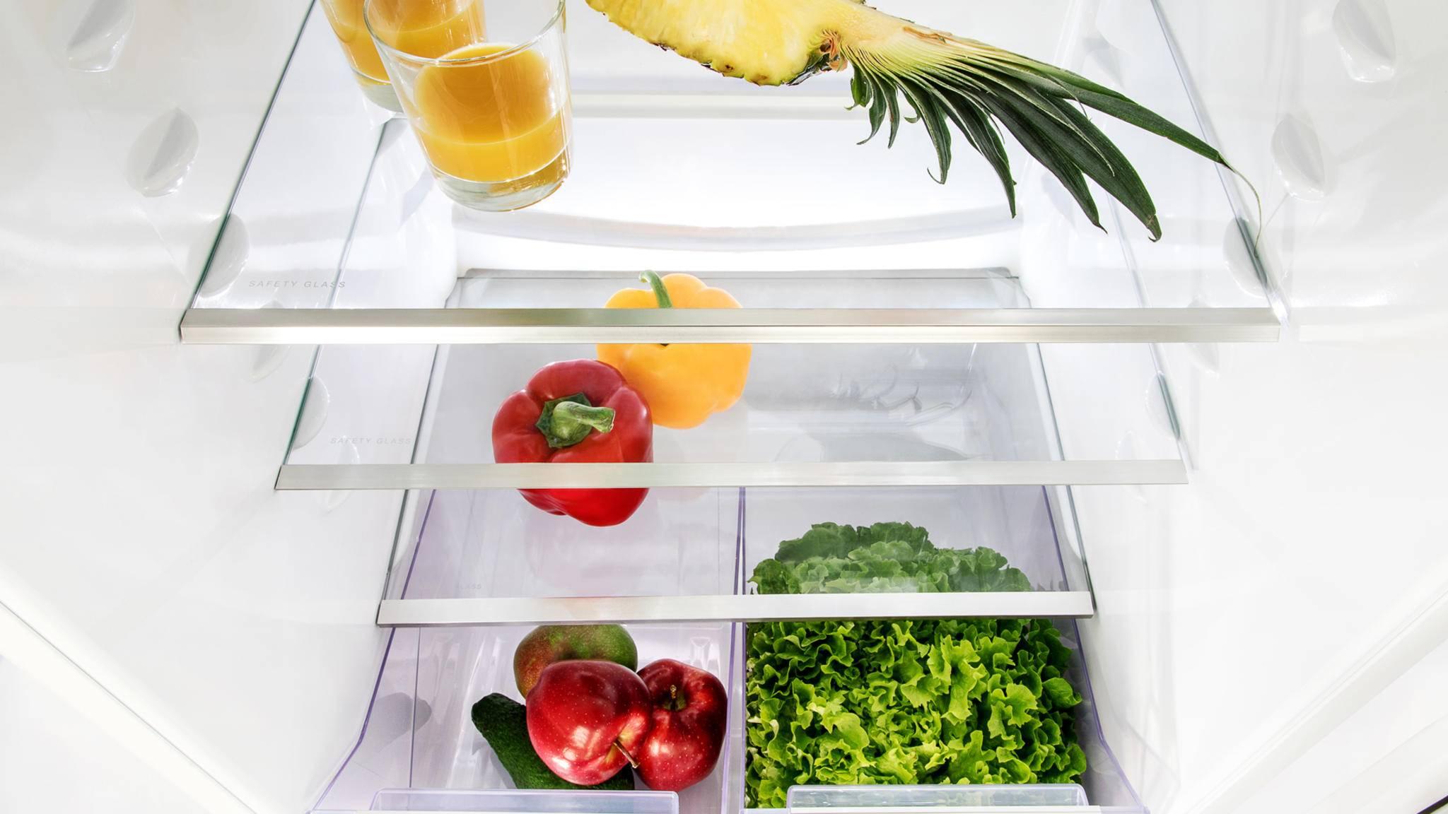 Der Kühlschrank der Zukunft könnte fast komplett recycelbar werden.