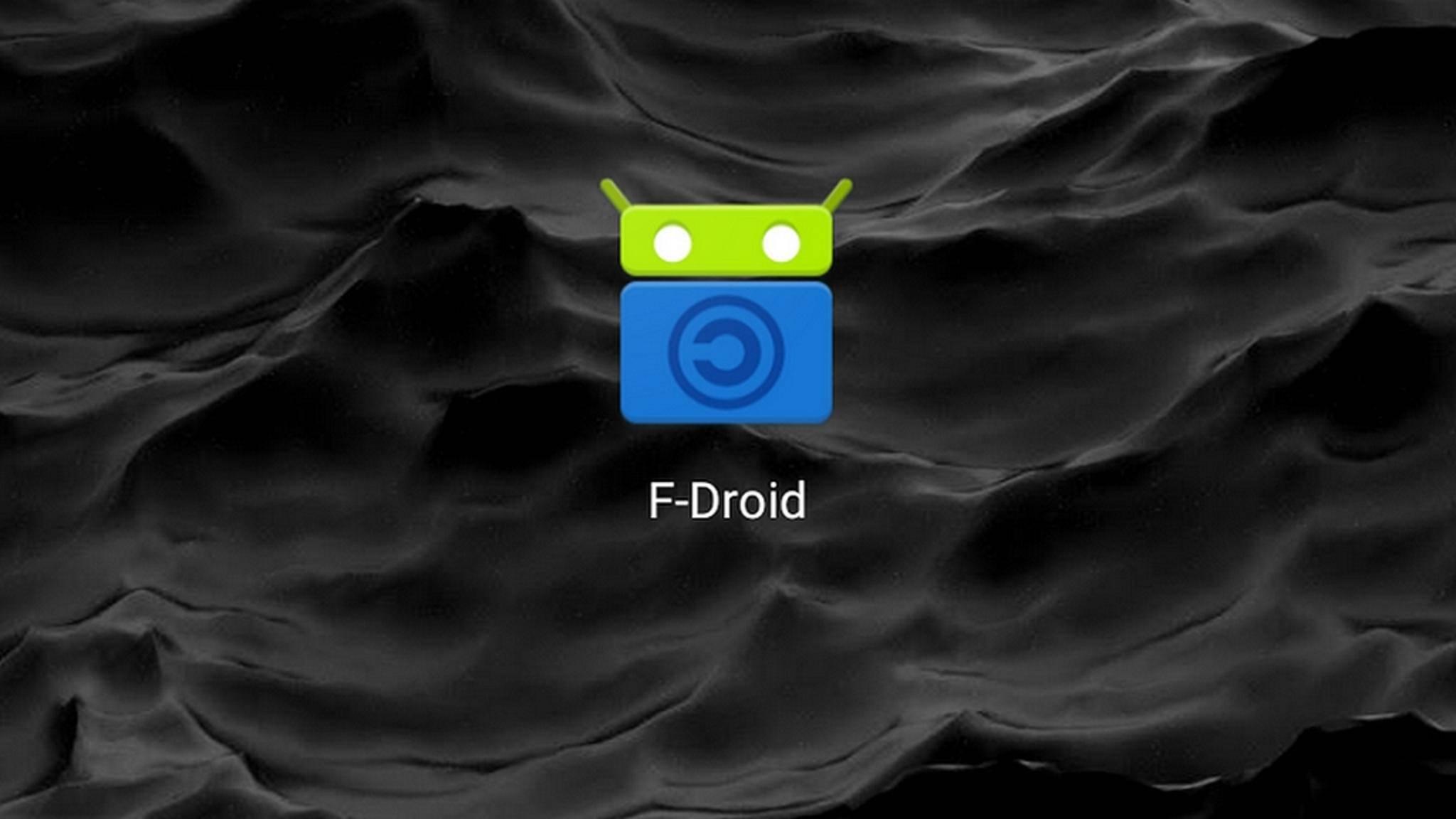 F-Droid ist ein beliebter alternativer App-Store für Android.