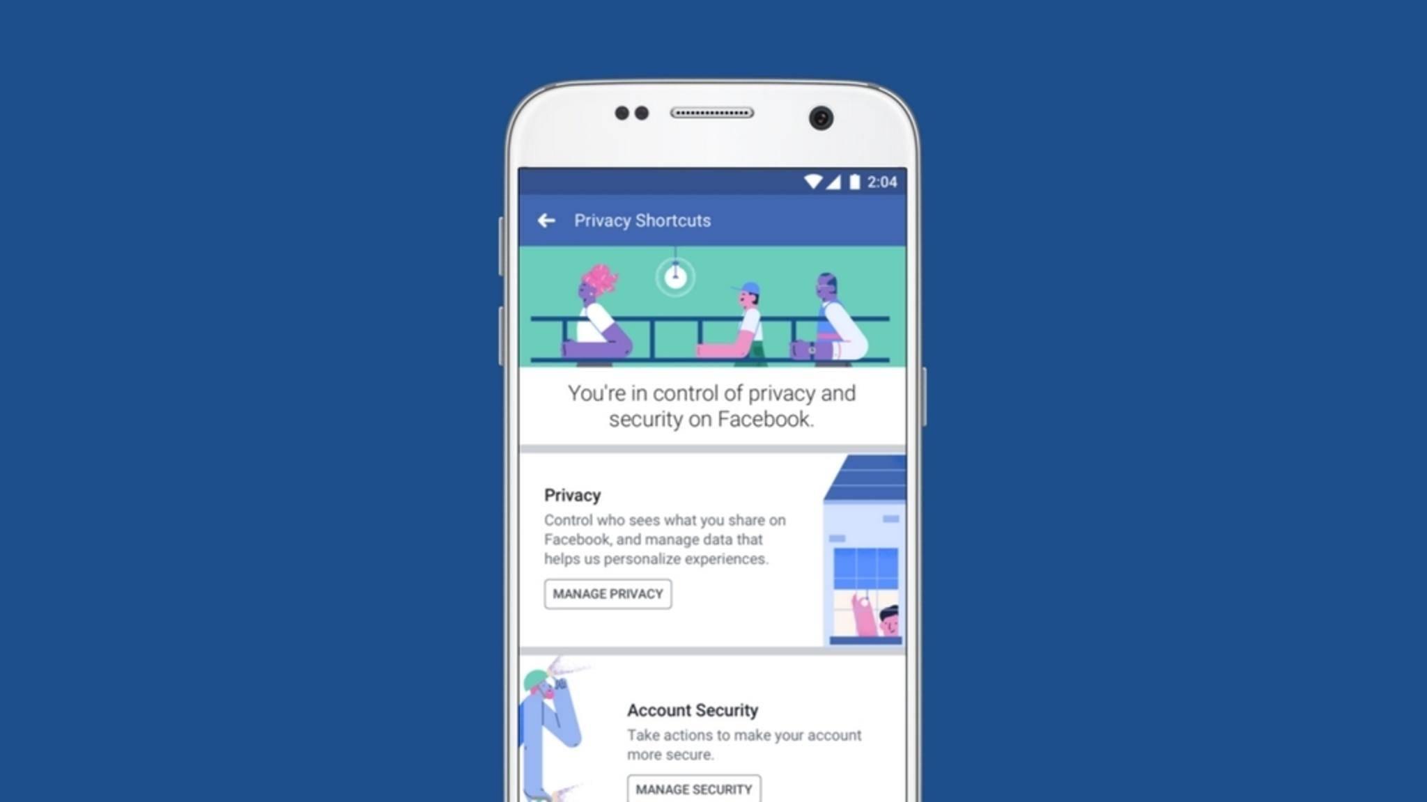 Facebook nimmt den Datenschutz nicht mehr so sehr auf die leichte Schulter.