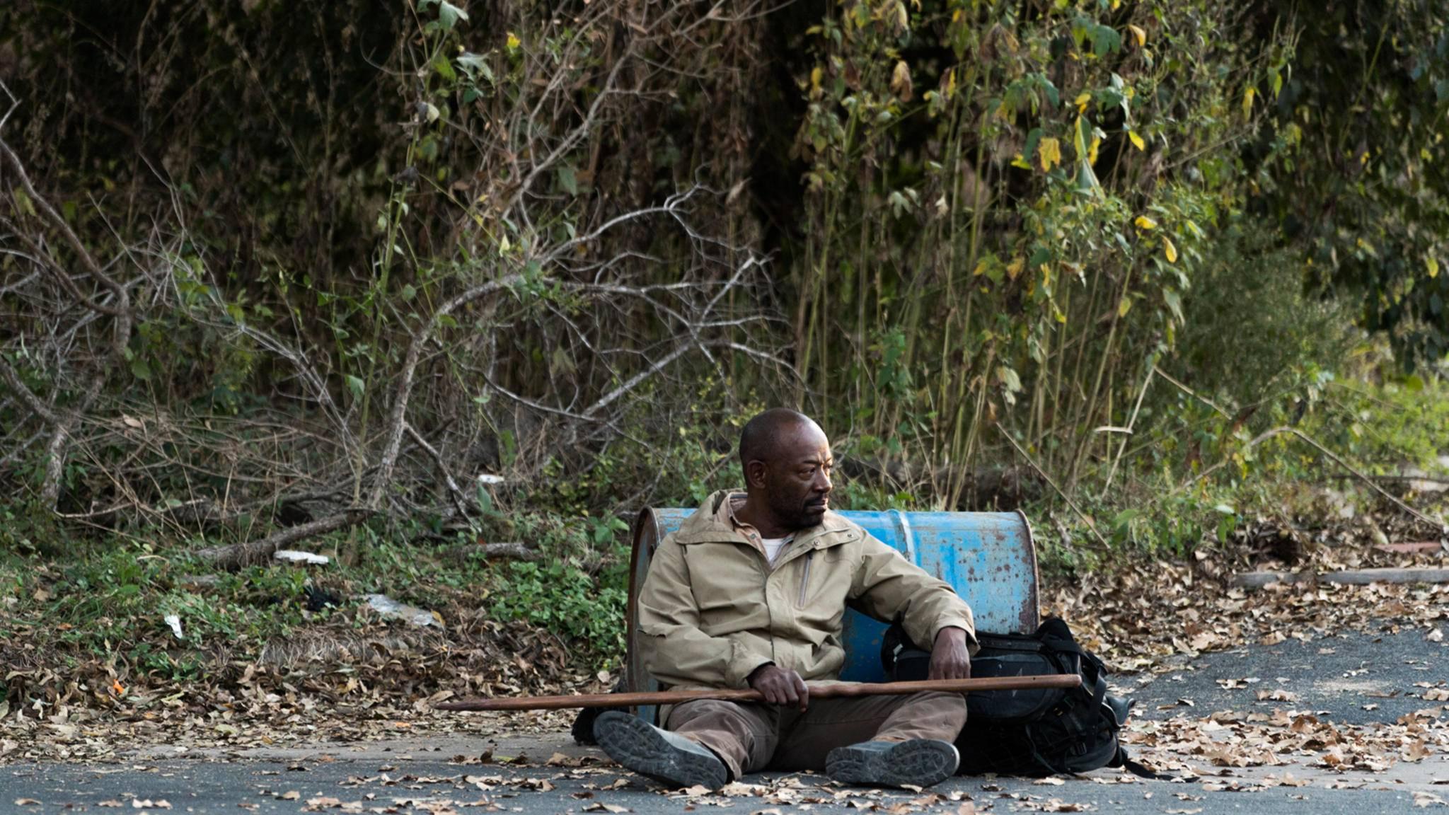 """Der neue """"FtWD""""-Trailer hält einsame Aussichten für Morgan bereit."""