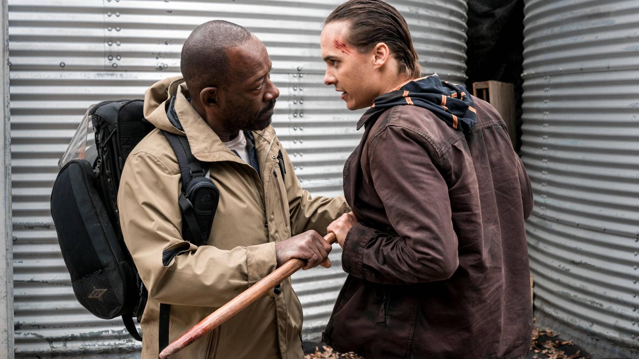 """Welten treffen aufeinander: Das Crossover zwischen """"The Walking Dead"""" und """"Fear the Walking Dead"""" steht kurz bevor."""