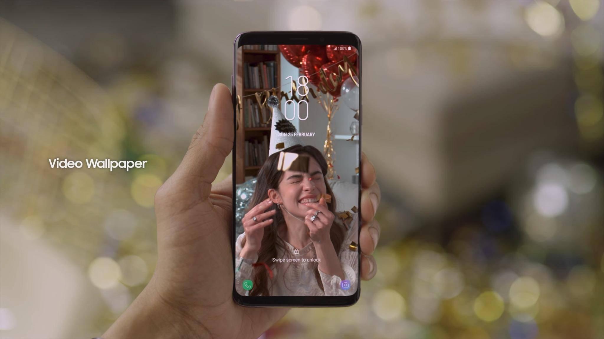 Mit Samsung Smart Switch kann man Daten schnell auf das neue Samsung Galaxy S9 übertragen.