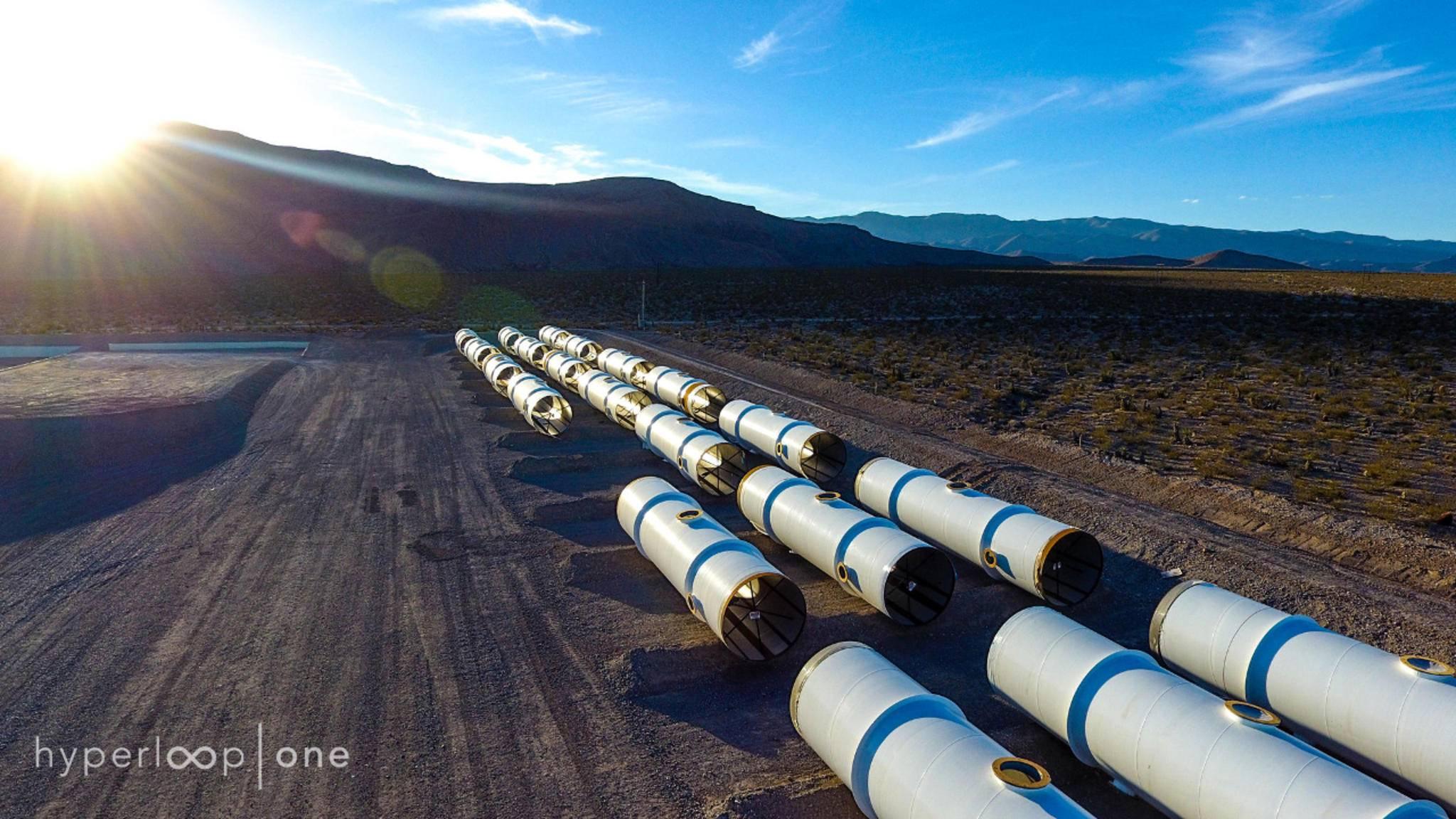 Die Gleise der Zukunft sind keine Schienen mehr, sondern Röhren mit minimalstem Luftwiderstand.