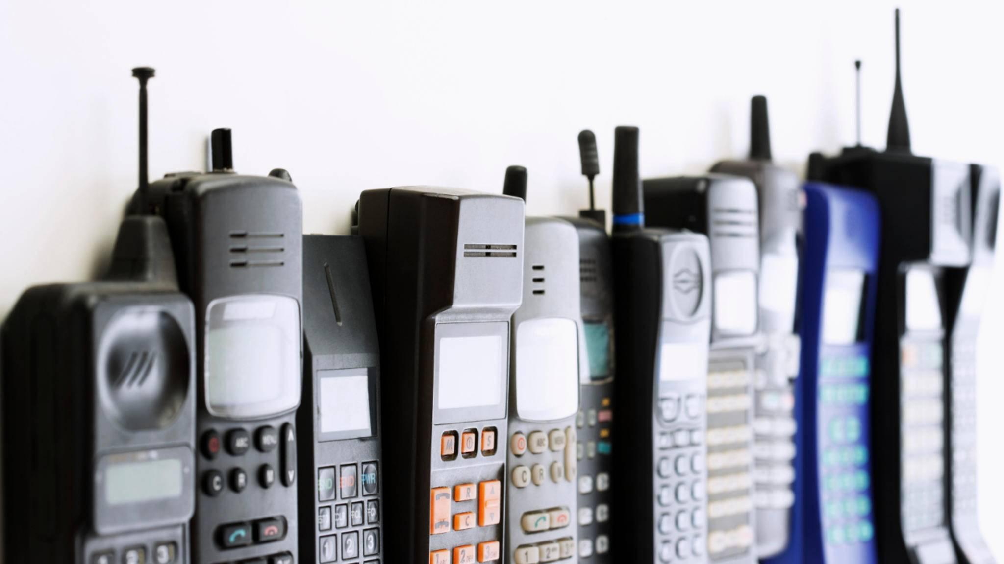 Vom ersten Handy bis zum iPhone X war es ein langer Weg.