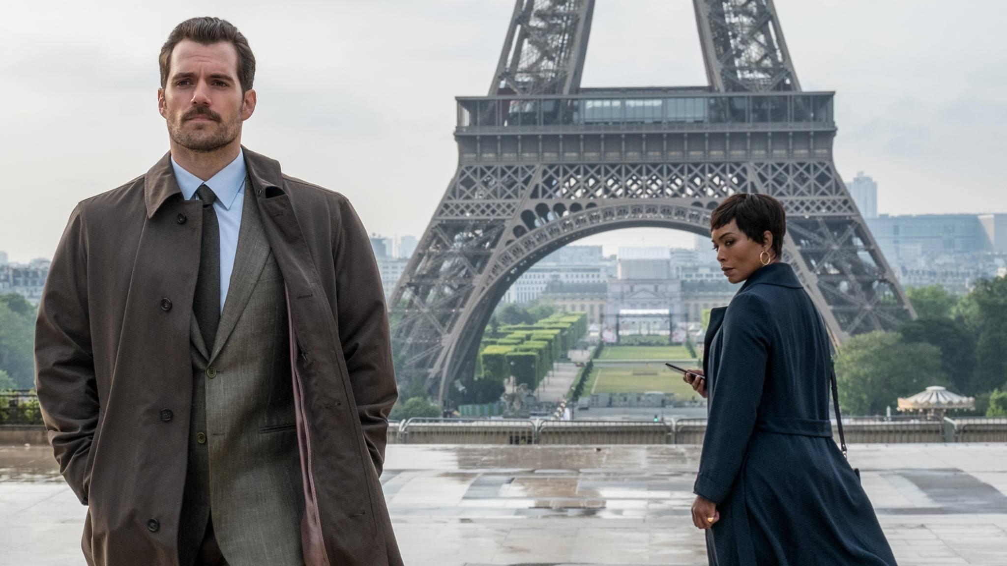 """Die Arbeiten an """"Mission: Impossible – Fallout"""" sind abgeschlossen und Henry Cavill (links) durfte endlich seinen umstrittenen Bart entfernen."""