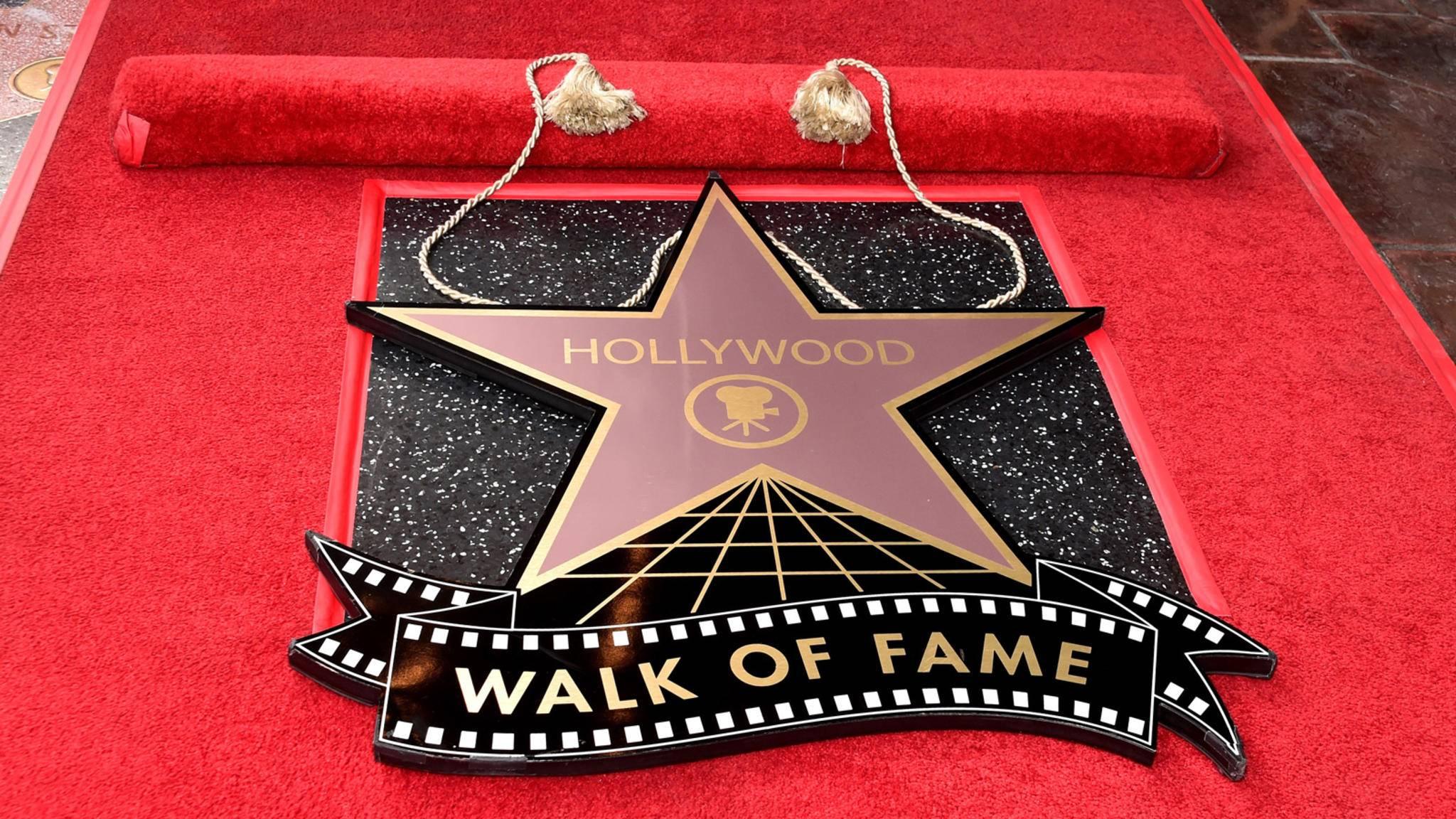 Ein Stern auf dem Hollywood Walk of Fame ist nicht für jeden Star selbstverständlich.