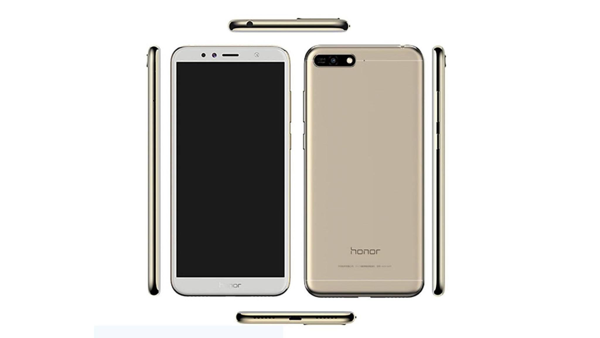 Das Honor 7A will auch auf den 18:9-Display-Trend aufspringen.