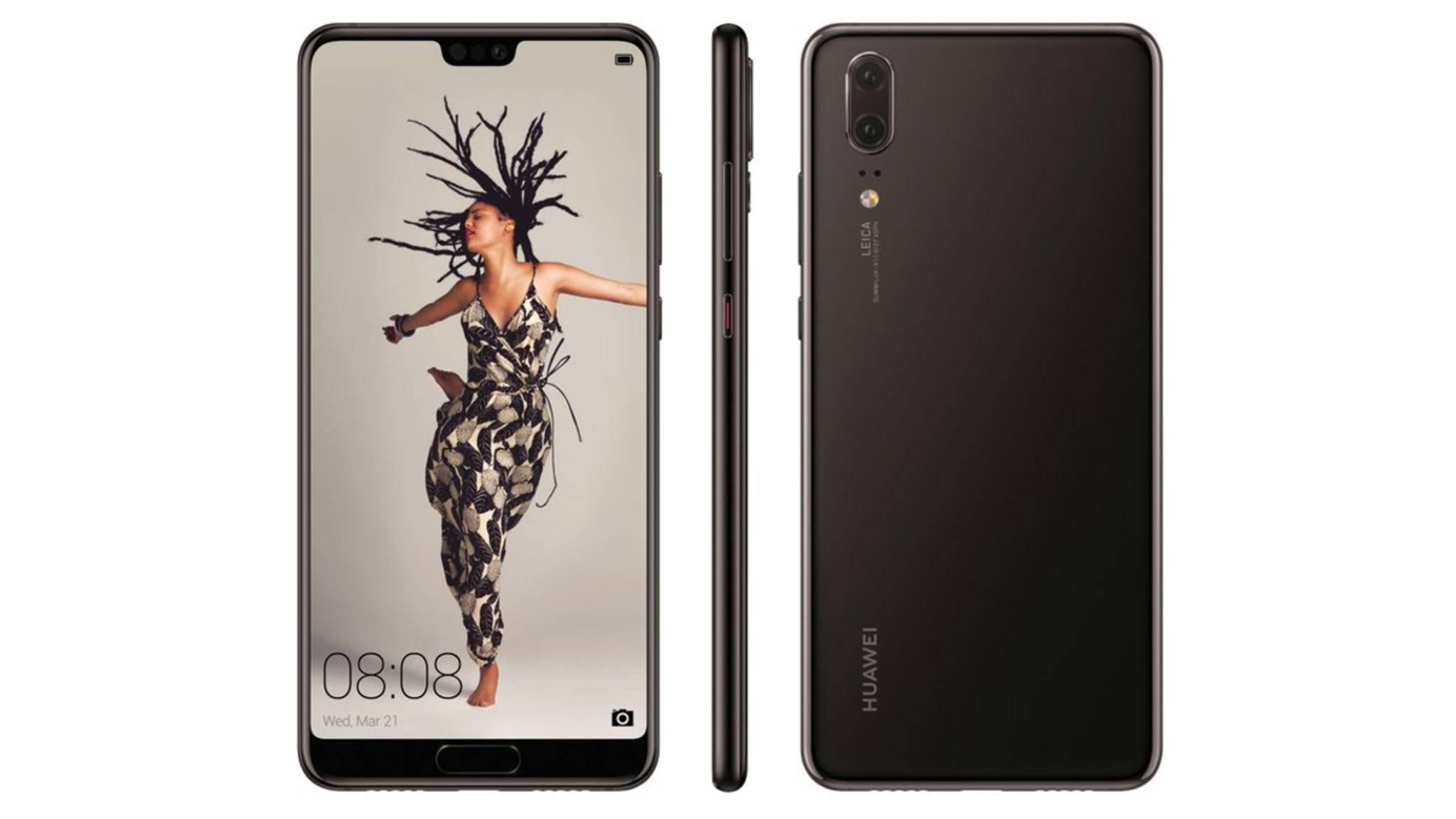 Vom Huawei P20 gab es diese Woche diverse Leak-Fotos zu sehen.