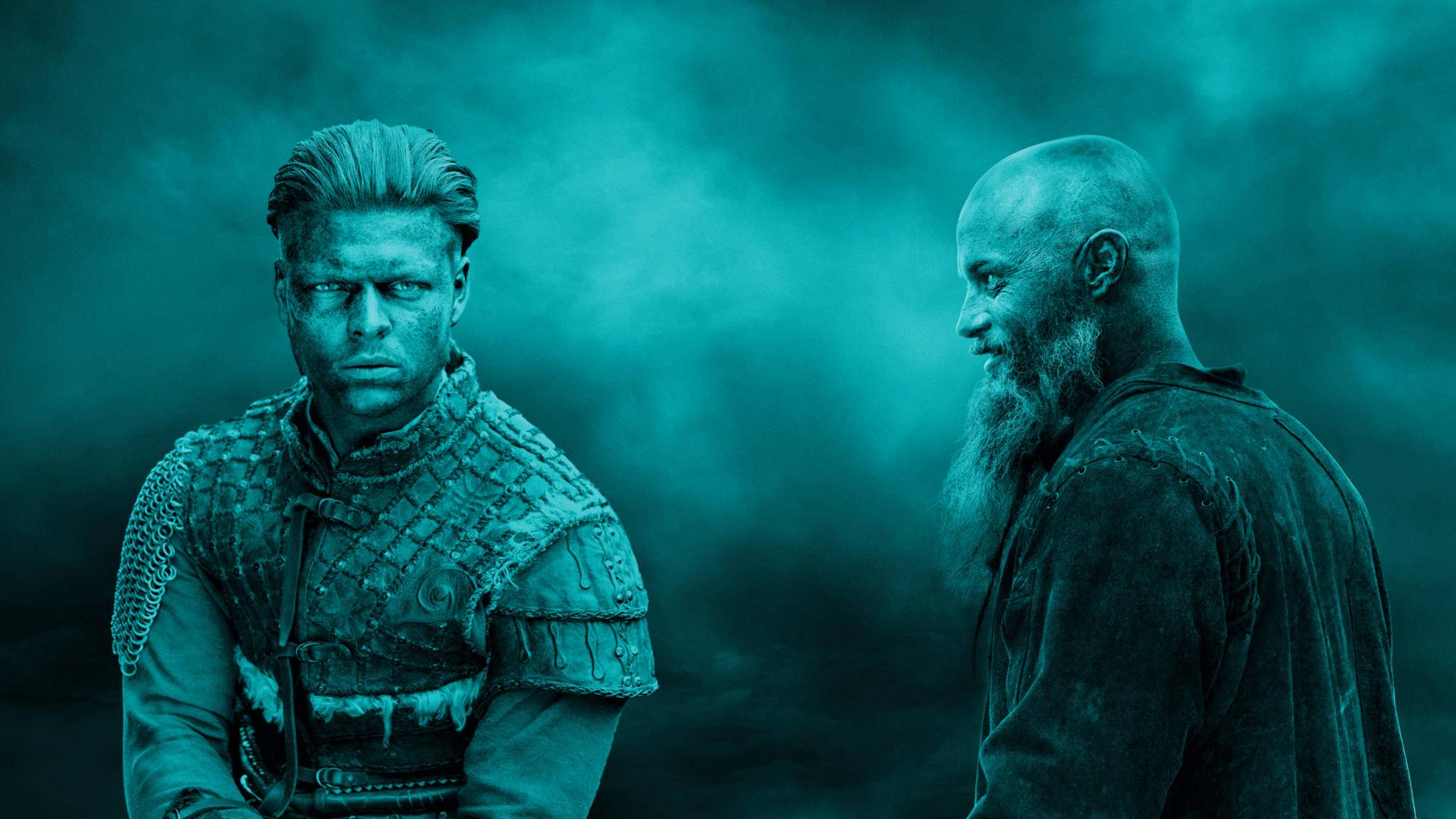 """Das """"Vikings""""-Universum rund um Ivar (links), Ragnar (rechts) und Co. könnte künftig noch erweitert werden."""