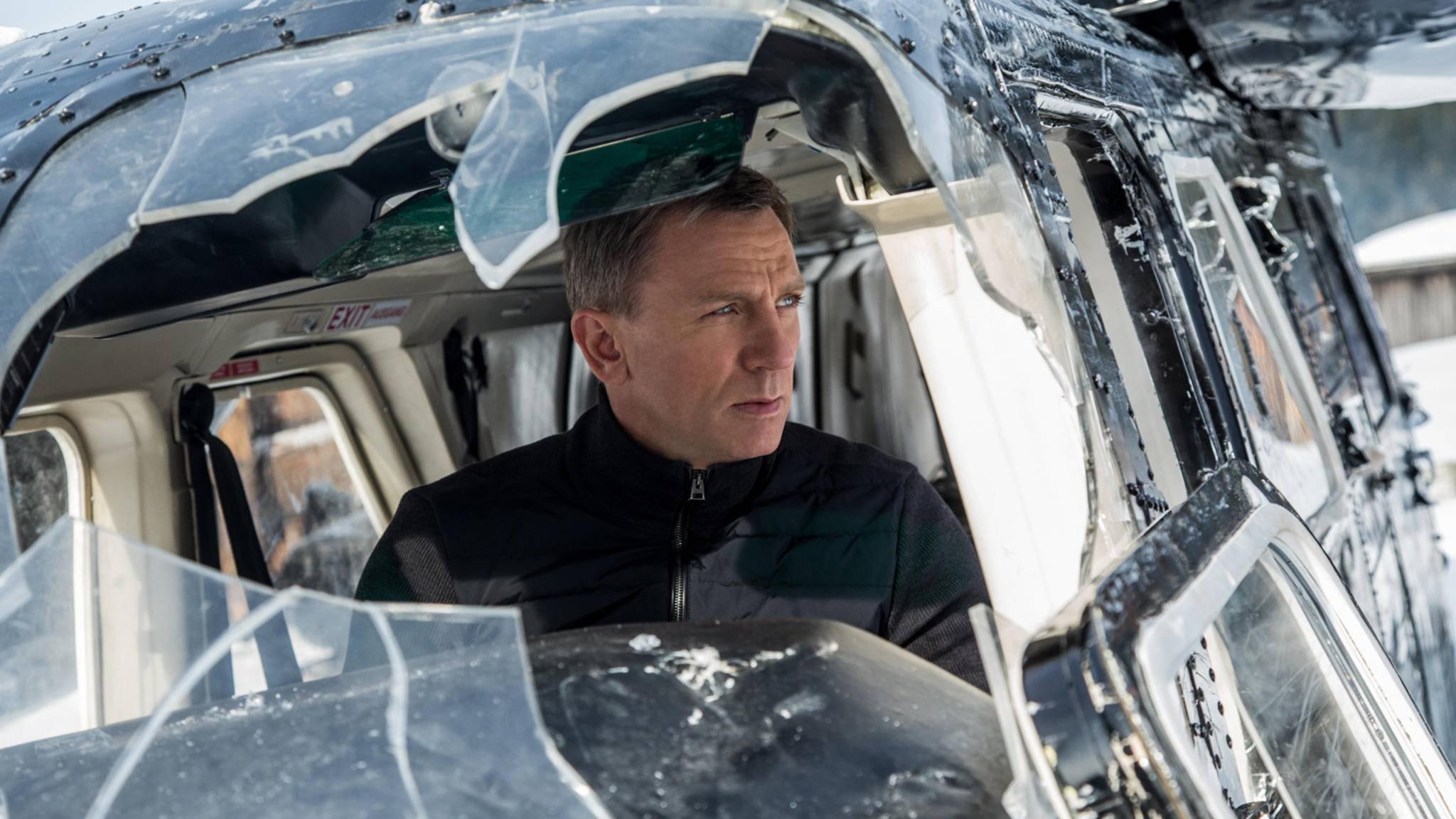 Auch James Bond ist einfach unverwüstlich.
