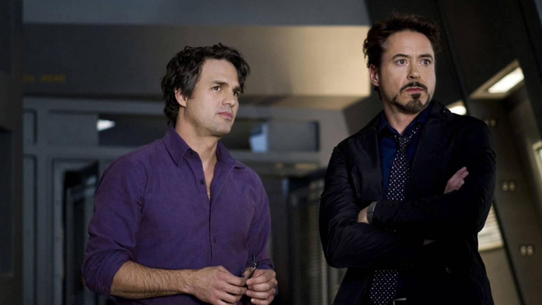 """So friedlich vereint dürften wir das Dreamteam in """"Avengers: Infinity War"""" nicht mehr zu sehen bekommen."""