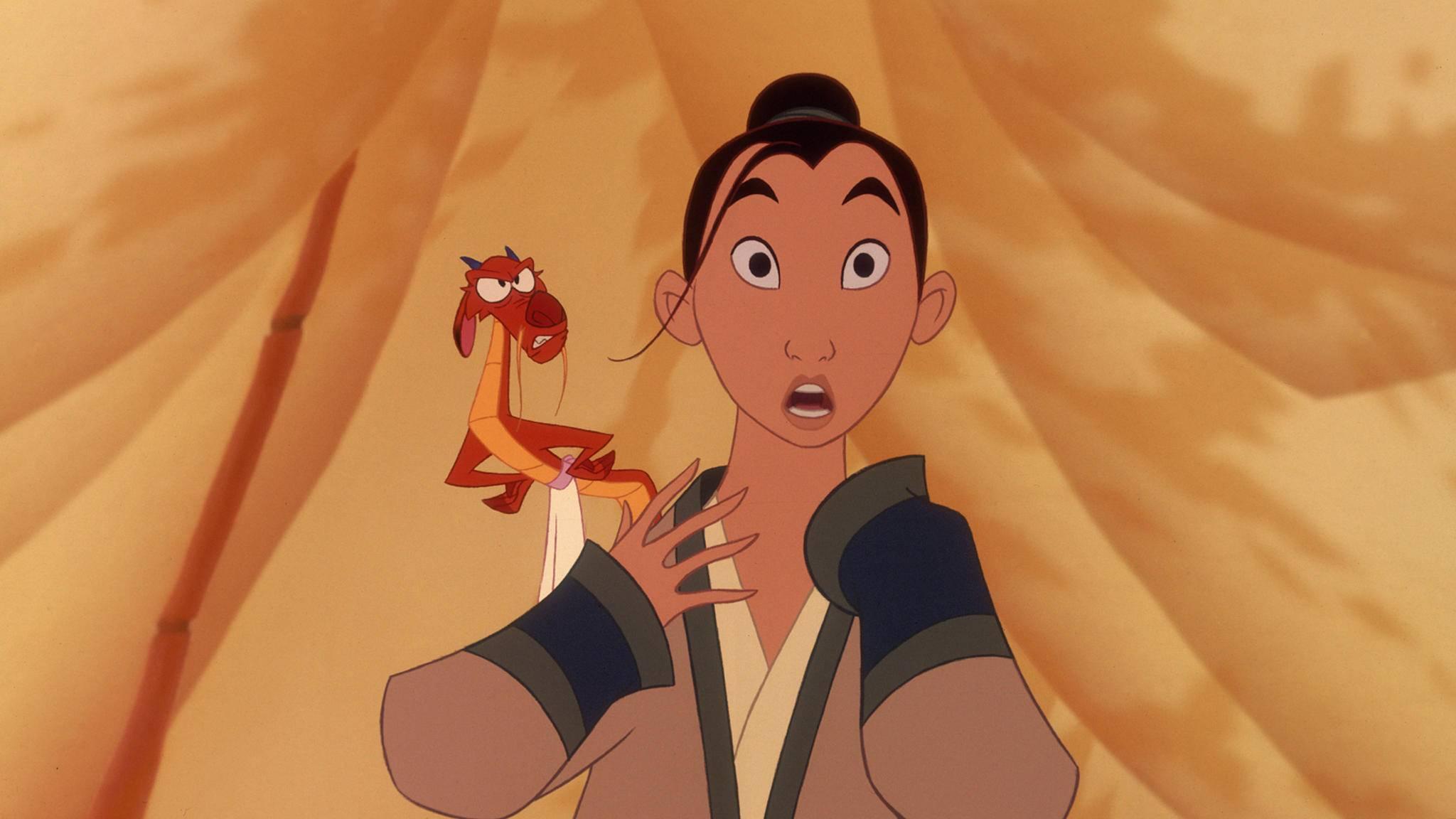 """Schock für Mushu-Fans: Der kleine rote Drache ist im """"Mulan""""-Remake nicht zu sehen."""