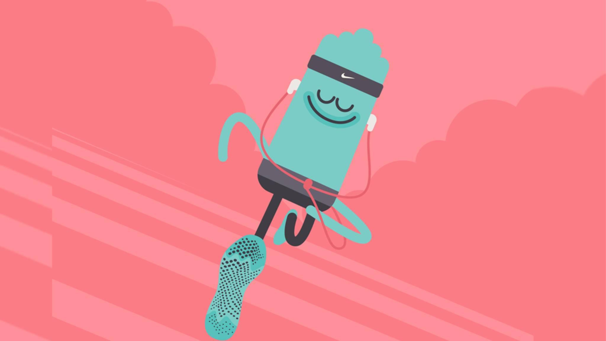 Die Nike-Headspace-Zusammenarbeit soll Läufer glücklich machen.