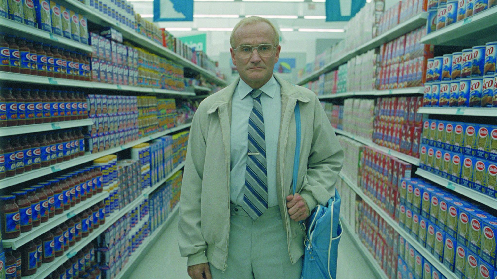 """Sehr verstörend und zugleich so sehenswert: """"One Hour Photo"""" mit Robin Williams."""
