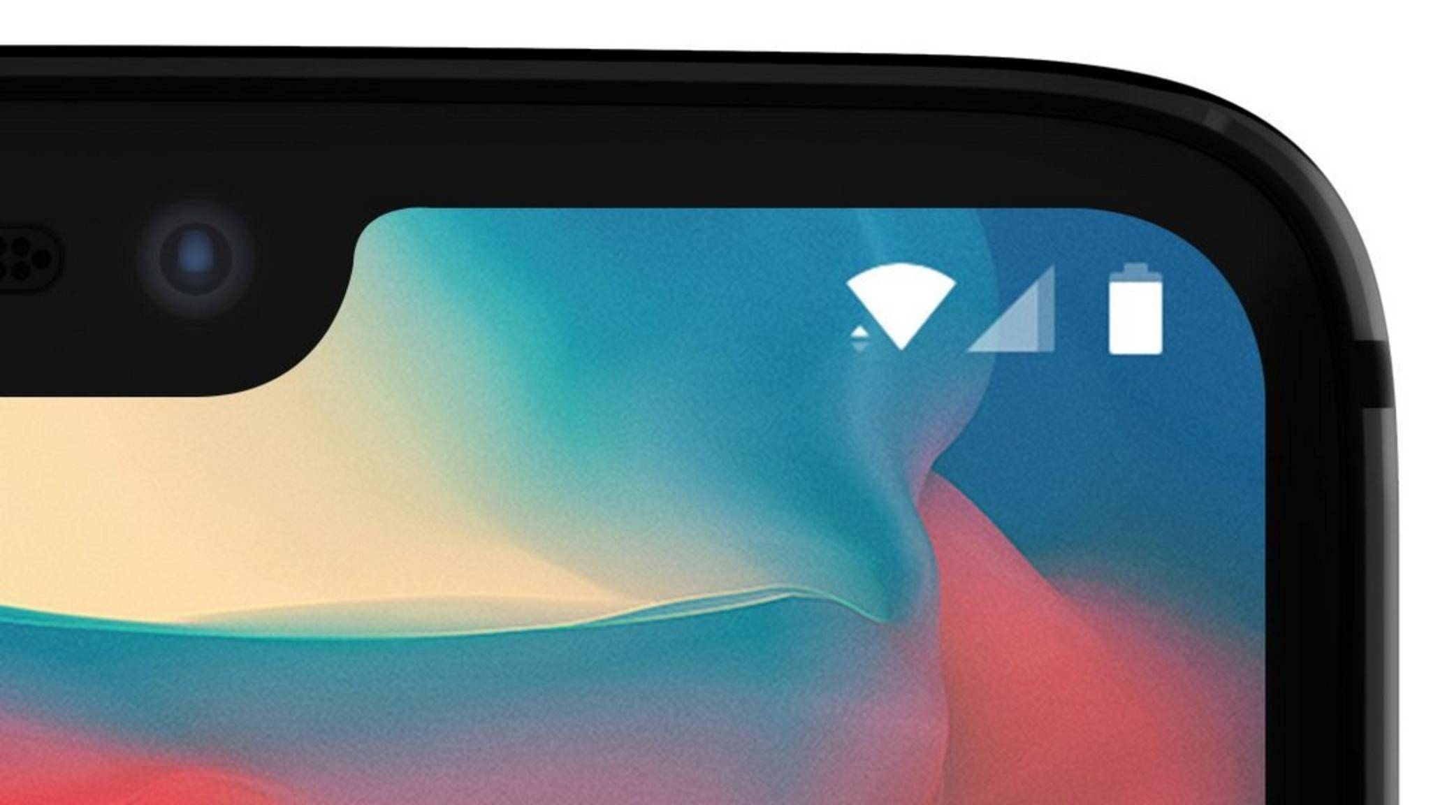 Das OnePlus 6 bekommt eine Display-Kerbe.