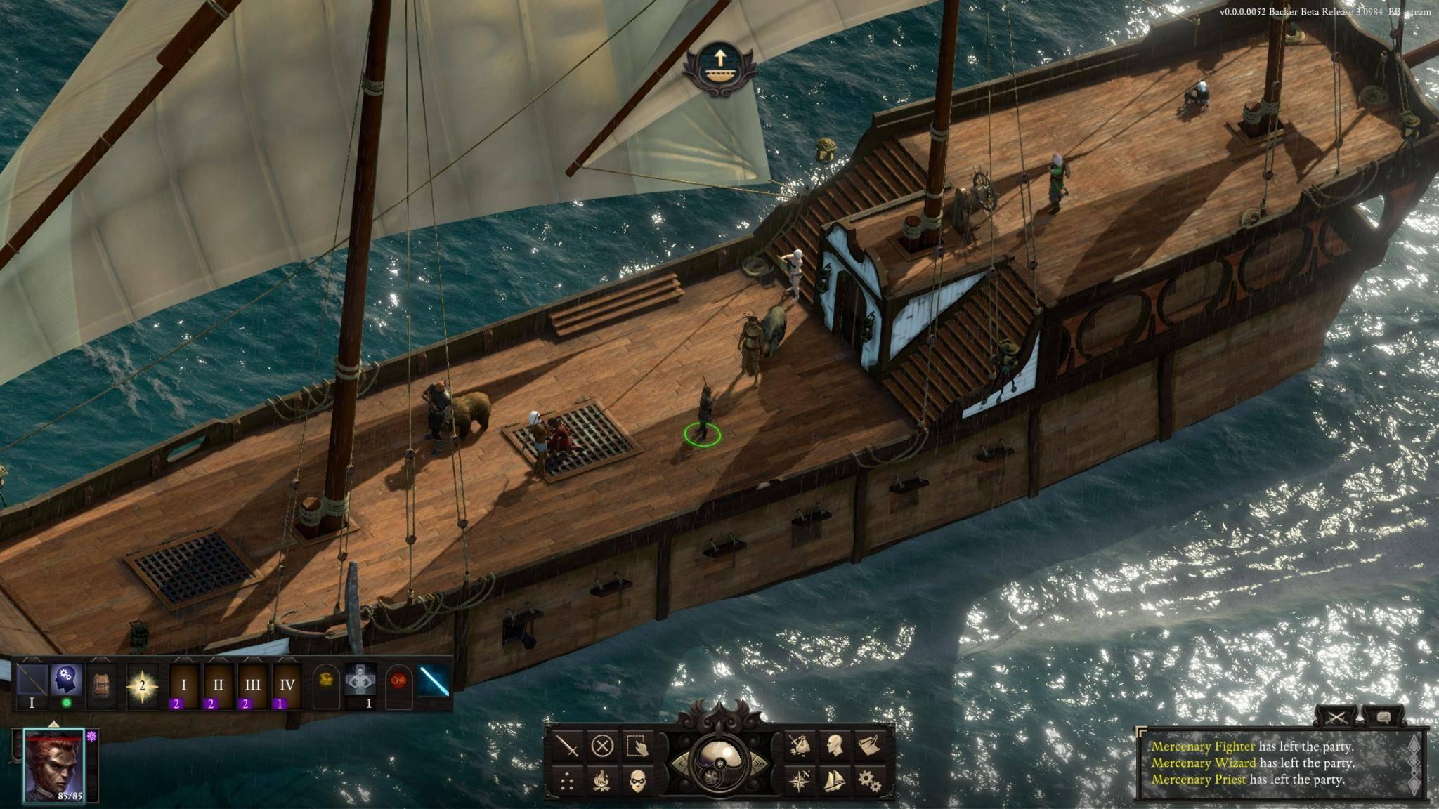 Eine Seefahrt, die ist... ein textbasiertes Strategiespiel mit gelegentlichen Ausflügen an Deck.