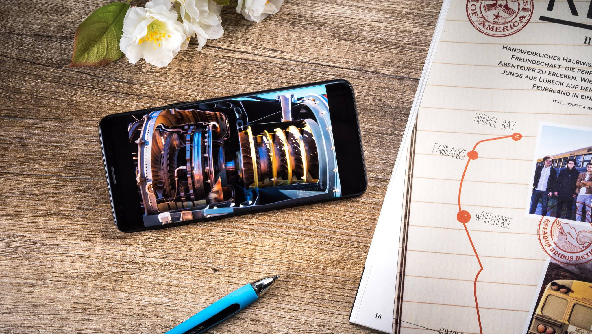 Das Galaxy S9 hat ein schnelleres LTE-Modem als die Konkurrenz.