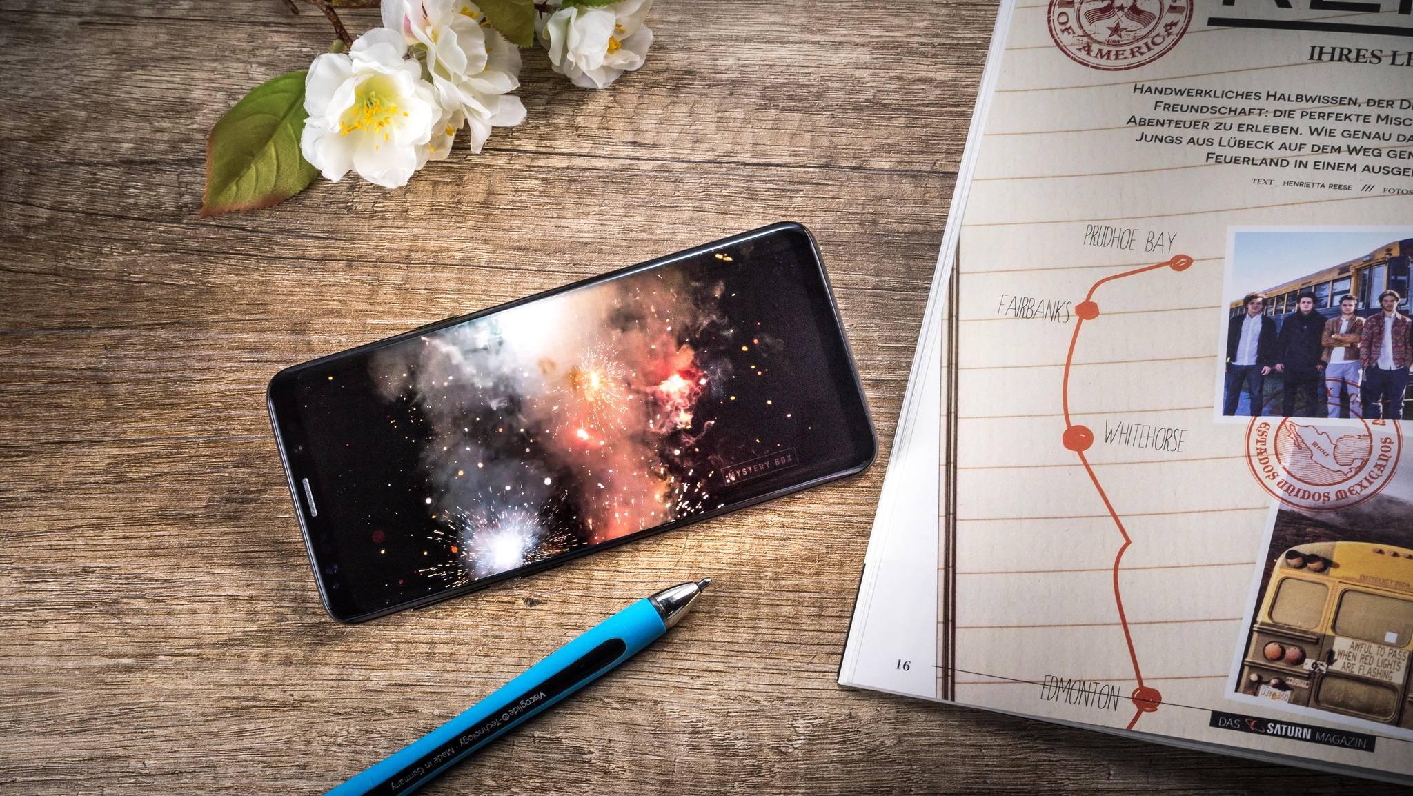 Der AKku des Galaxy S9 macht früher schlapp als der des Vorgängers.