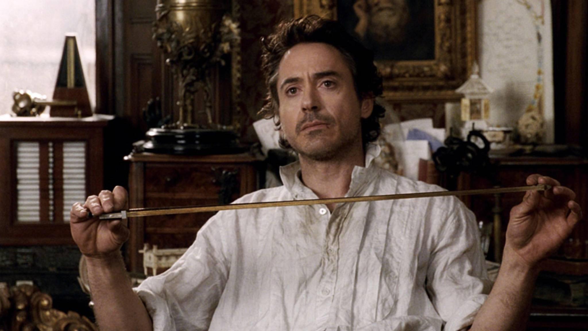 """Robert Downey Jr. plant bereits seine Rückkehr zum Detektivmetier in """"Sherlock Holmes 3""""."""