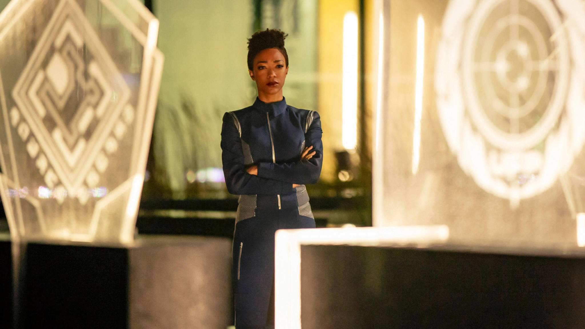 Staffel 3 katapultiert Michael Burnham weit in die Zukunft.