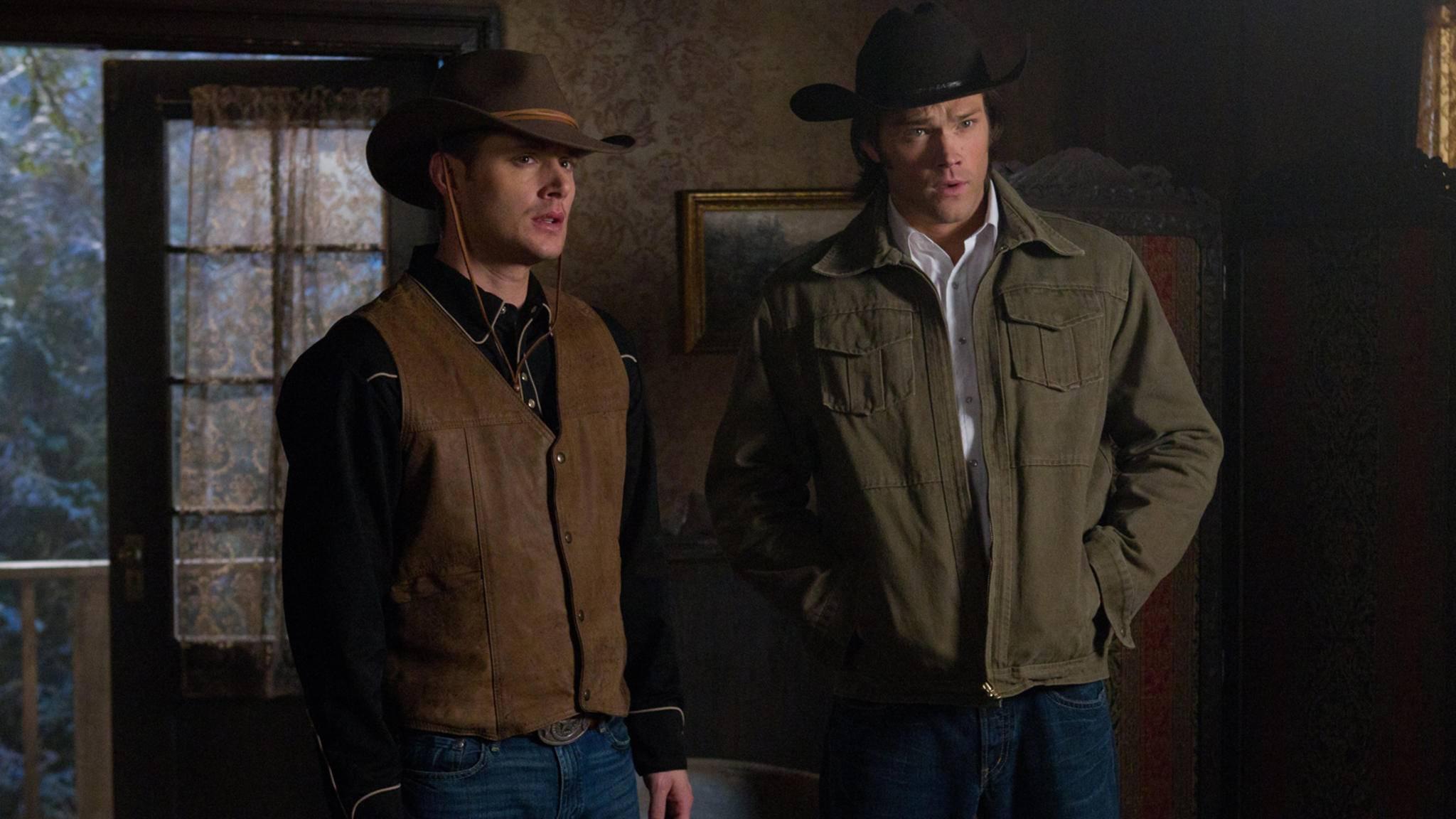 """In """"Supernatural"""" durfte Jared Padalecki (rechts) bereits einmal den Cowboy geben, in """"Walker, Texas Ranger"""" wird er nun wirklich zum Ranger."""