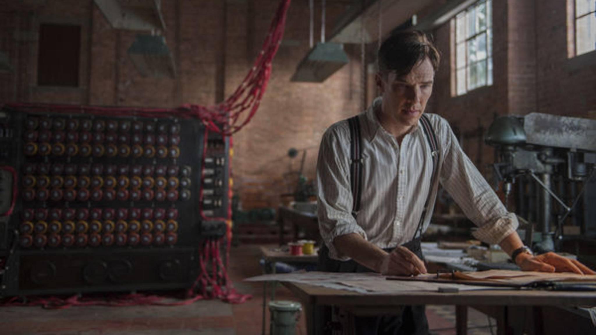 """In """"The Imitation Game"""" liefert Benedict Cumberbatch eine seiner beeindruckendsten Performances ab."""