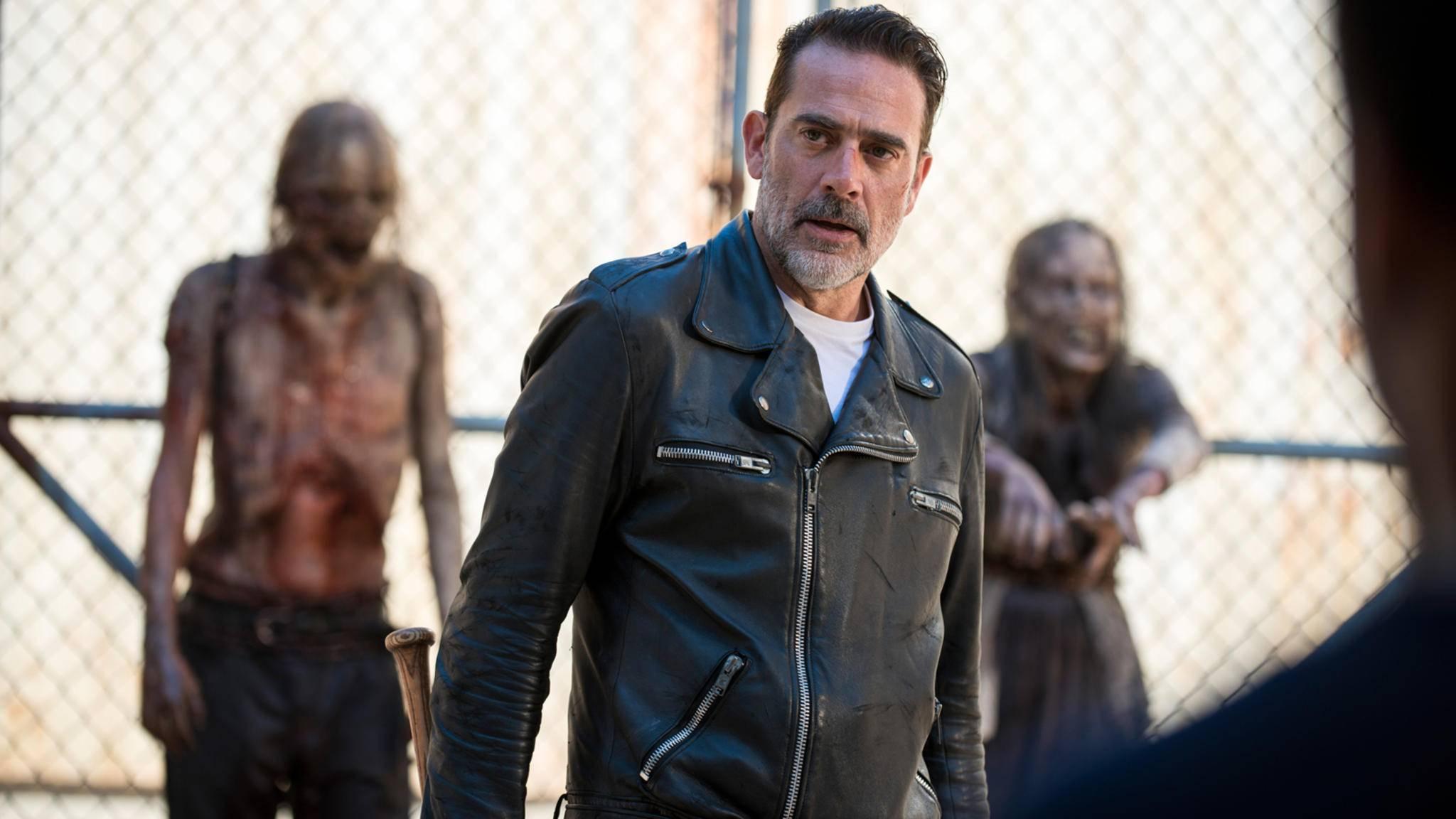 """Gewisse """"Qualitäten"""" von Negan dürften die Figuren aus """"The Walking Dead"""" in Staffel 9 und danach vermutlich noch gut gebrauchen können."""
