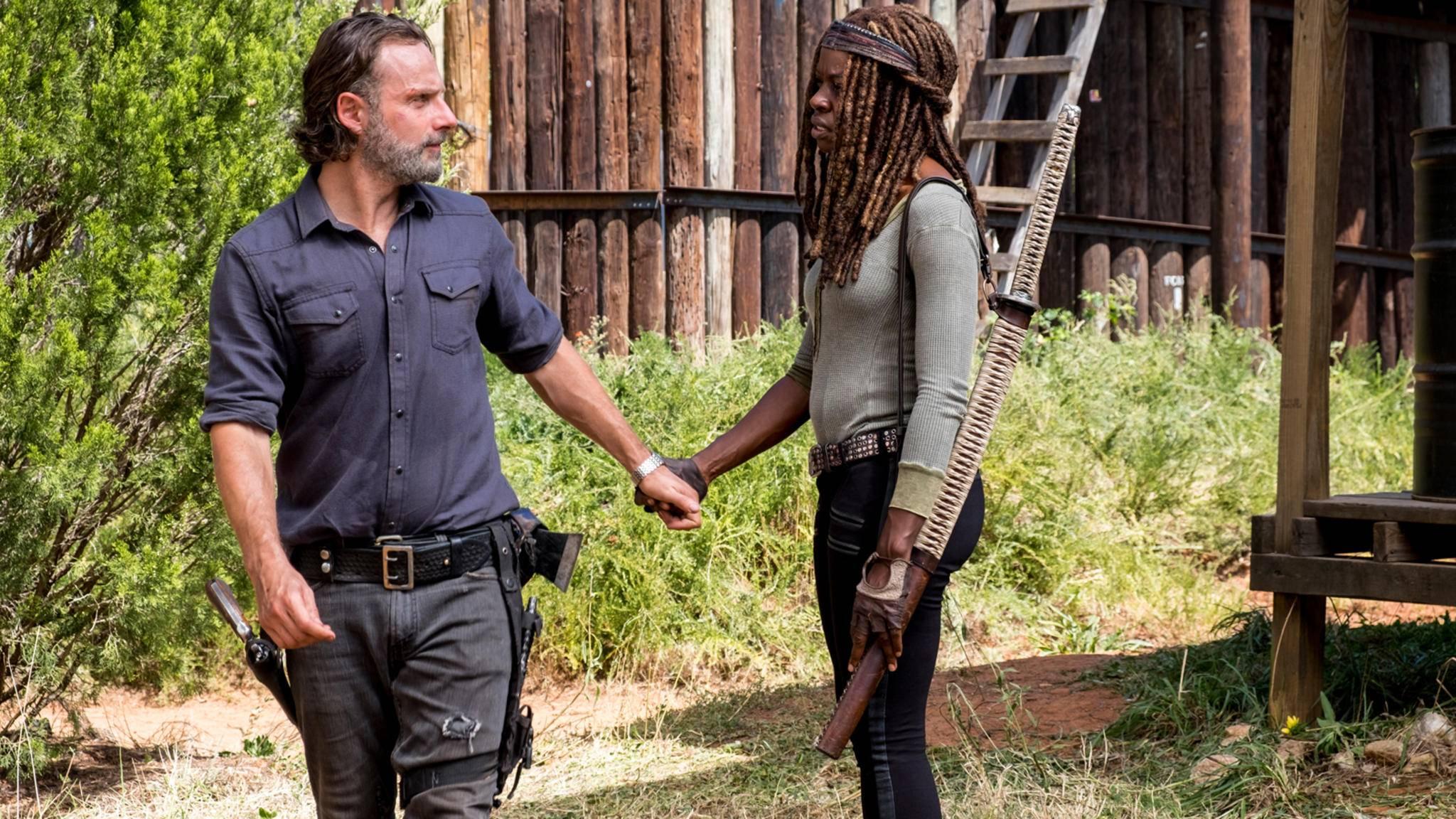 """Geh nicht! Das denken sich auch zahlreiche """"The Walking Dead""""-Fans."""