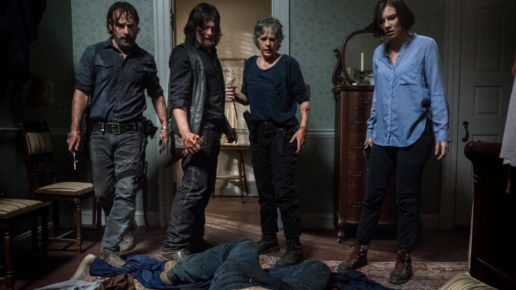"""In Staffel 9 steht für einige Figuren von """"The Walking Dead"""" großer Ärger ins Haus."""