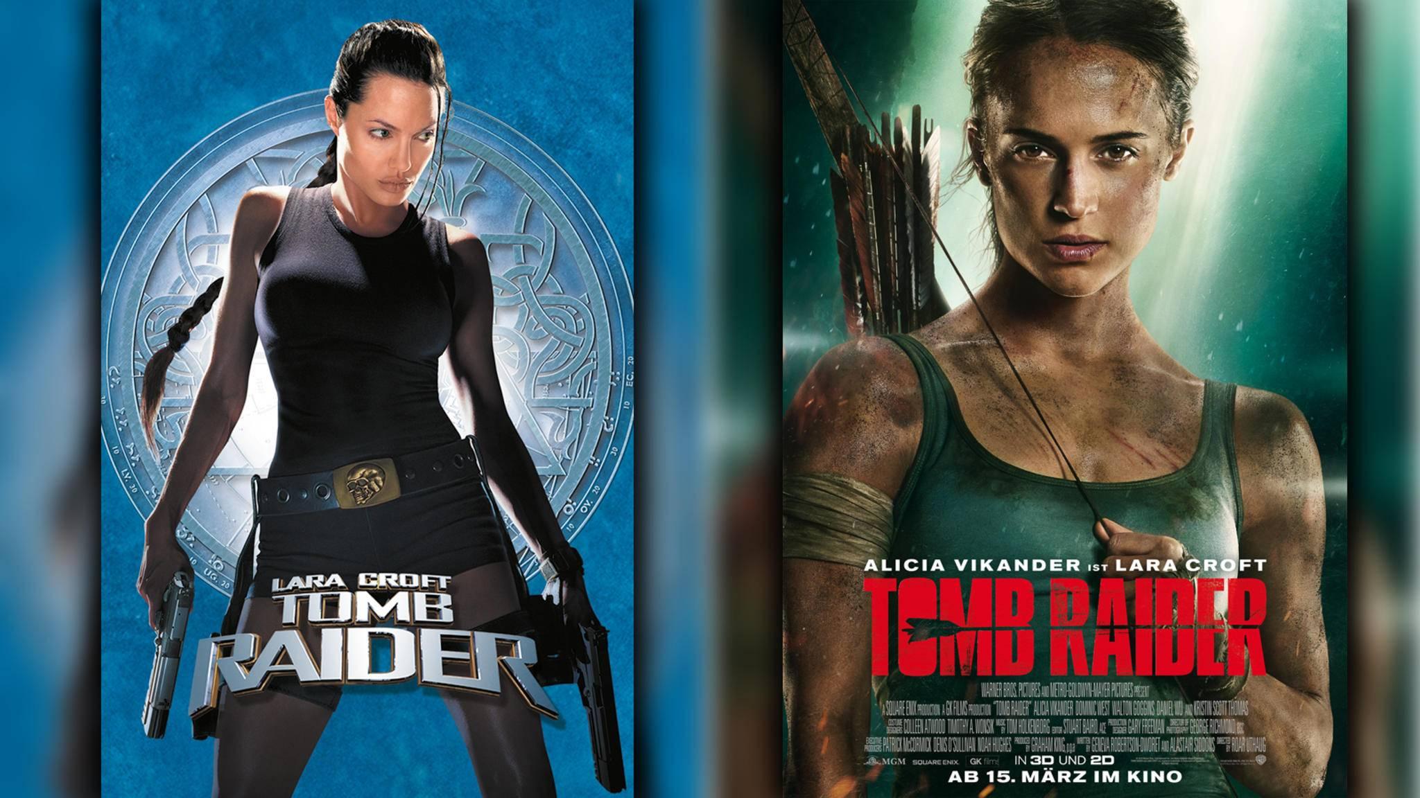 """Das große """"Tomb Raider""""-Duell: Lieber Angelina Jolie oder Alicia Vikander?"""