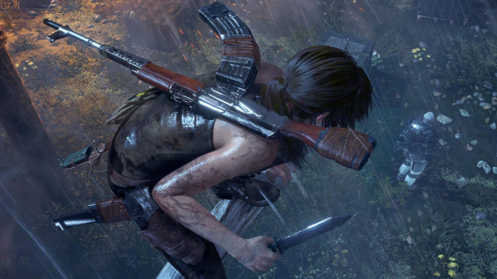 """Noch im will Square Enix """"Shadow of the Tomb Raider"""" vorstellen."""
