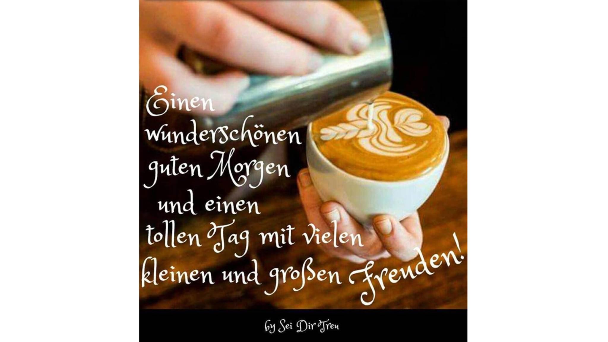 Mit einem netten oder lustigen Guten-Morgen-Gruß startet es sich gleich besser in den Tag!
