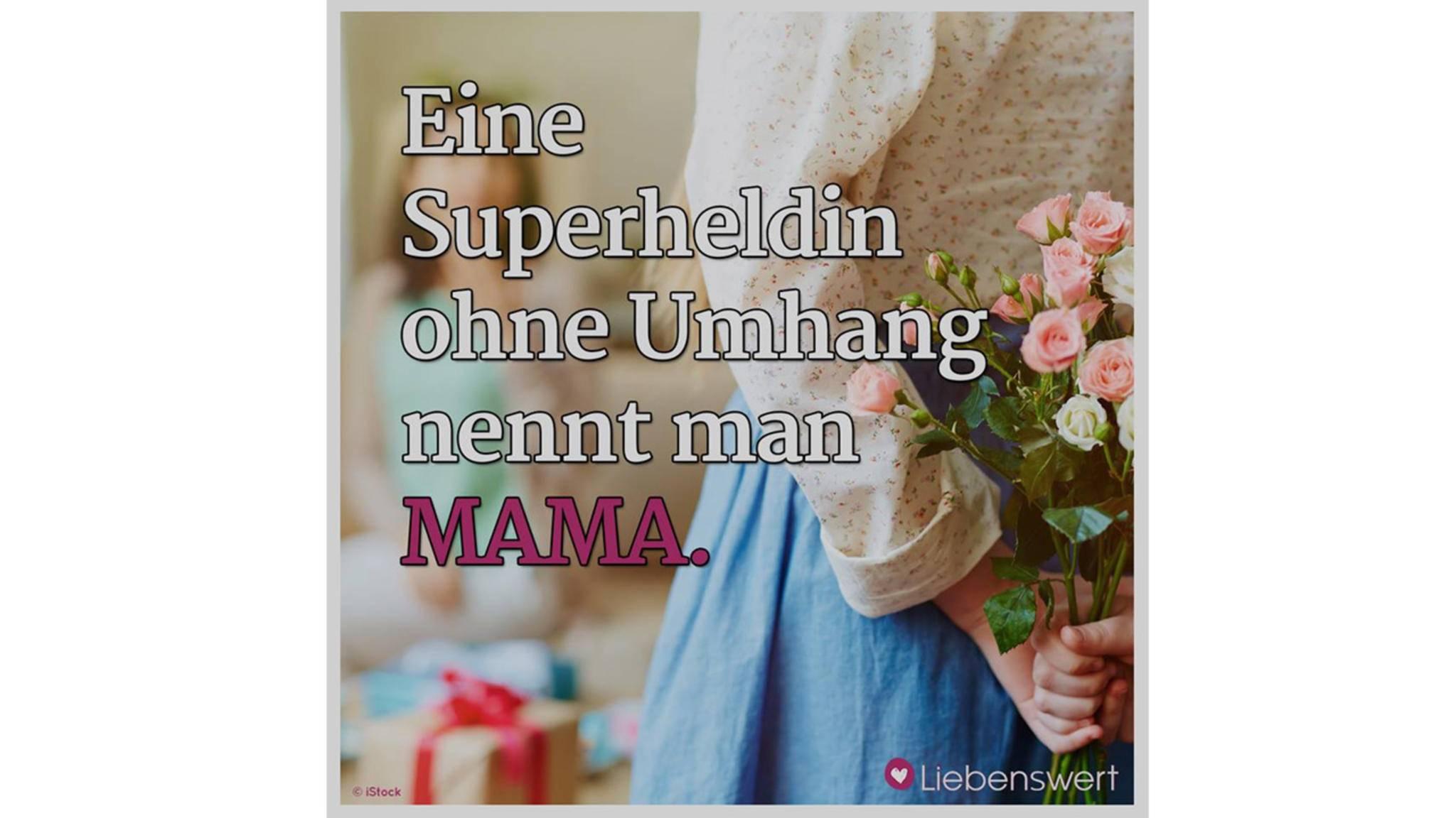 Jede Mama ist einzigartig. Zeig's ihr am Muttertag mit einem süßen Bild!