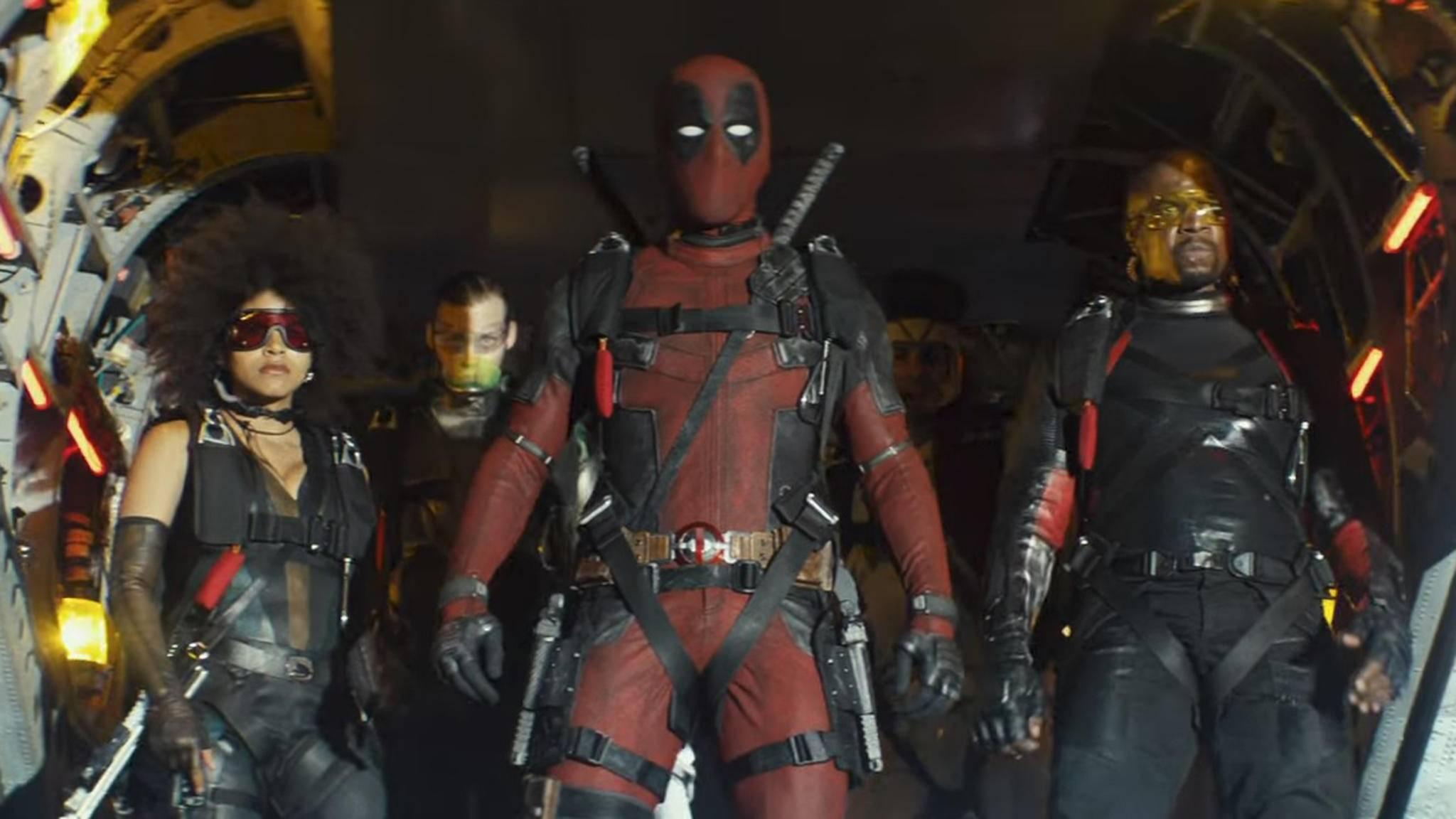 Terry Crews (rechts von Ryan Reynolds als Deadpool) könnte einen faszinierenden Mutanten verkörpern.