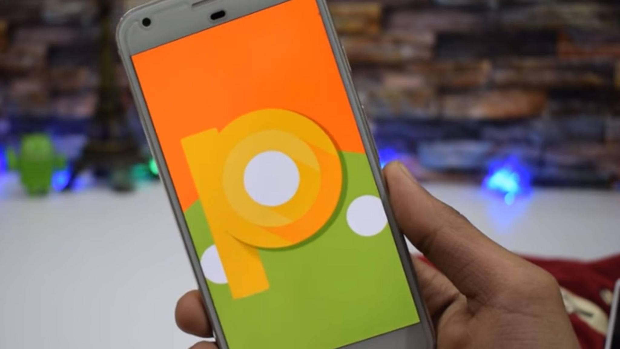Kann seit dieser Woche auf Pixel Phones getestet werden: Android 9.0 P in der Developer Preview.
