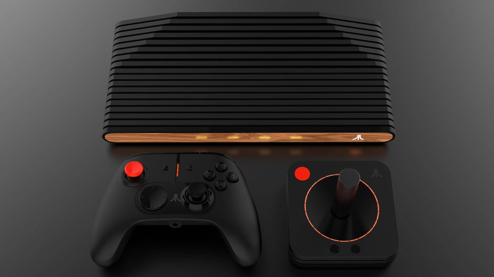 Die Ataribox heißt jetzt Atari VCS und bekommt ein Controller-Update.