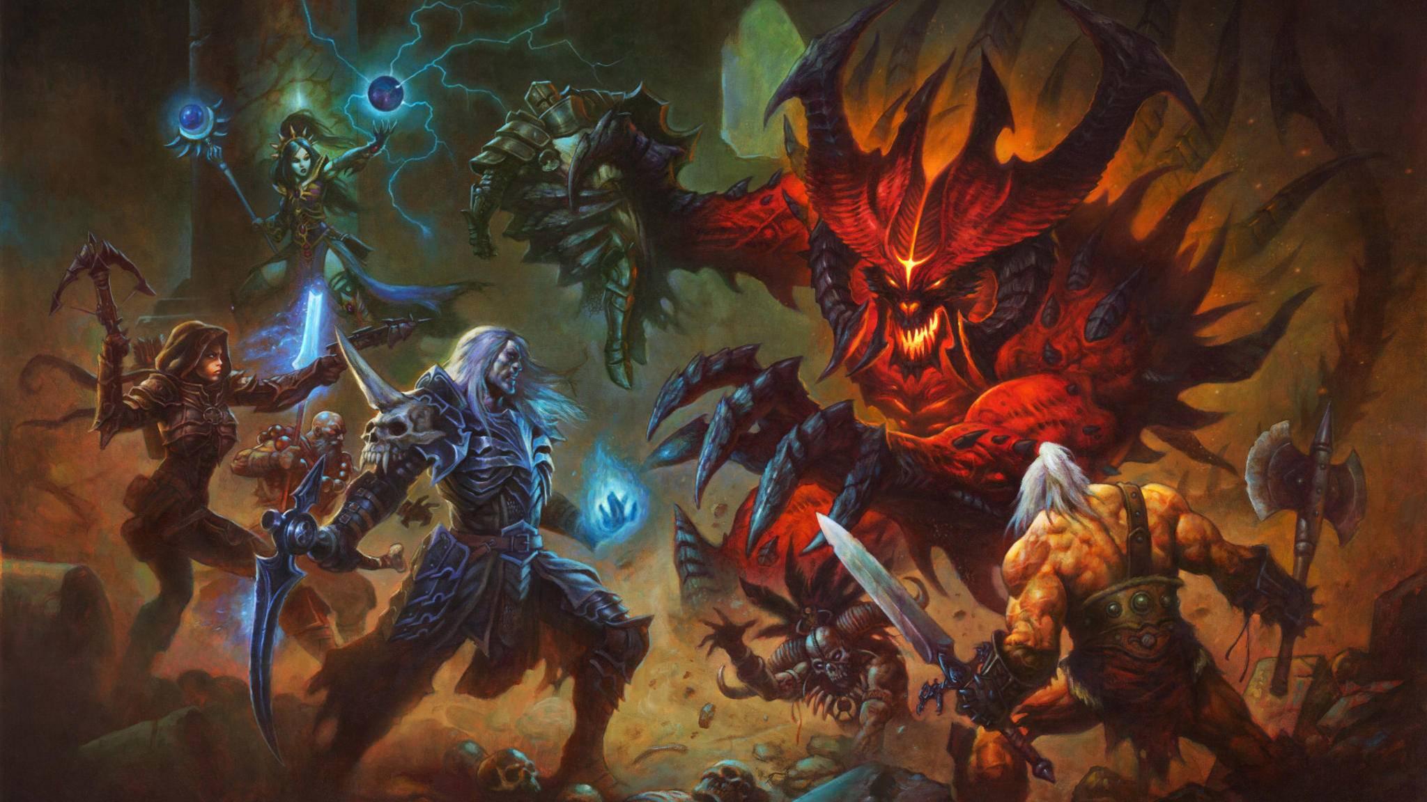 """Ein bisher unveröffentlichtes Video bestätigt die Existenz von """"Diablo 4""""."""