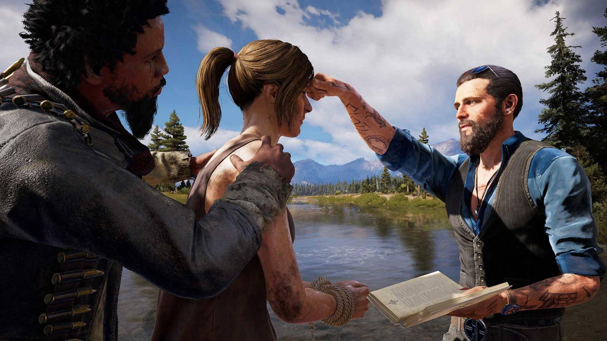 """""""Far Cry 5"""": Kultisten-Hauptmann John Seed ist der Schlüssel zu weiteren Waffenslots."""