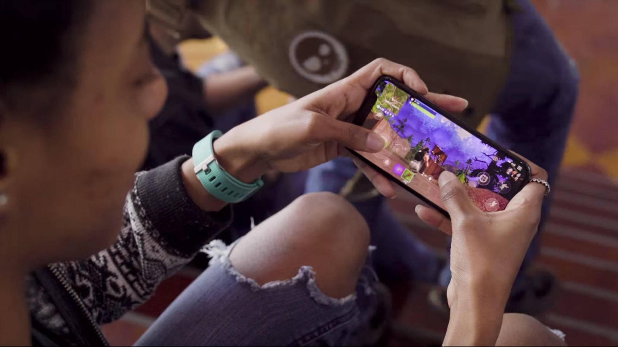 """""""Fortnite: Battle Royale"""" ist auf iOS-Geräten auch mobil spielbar. Wann kommt die Android-Version?"""