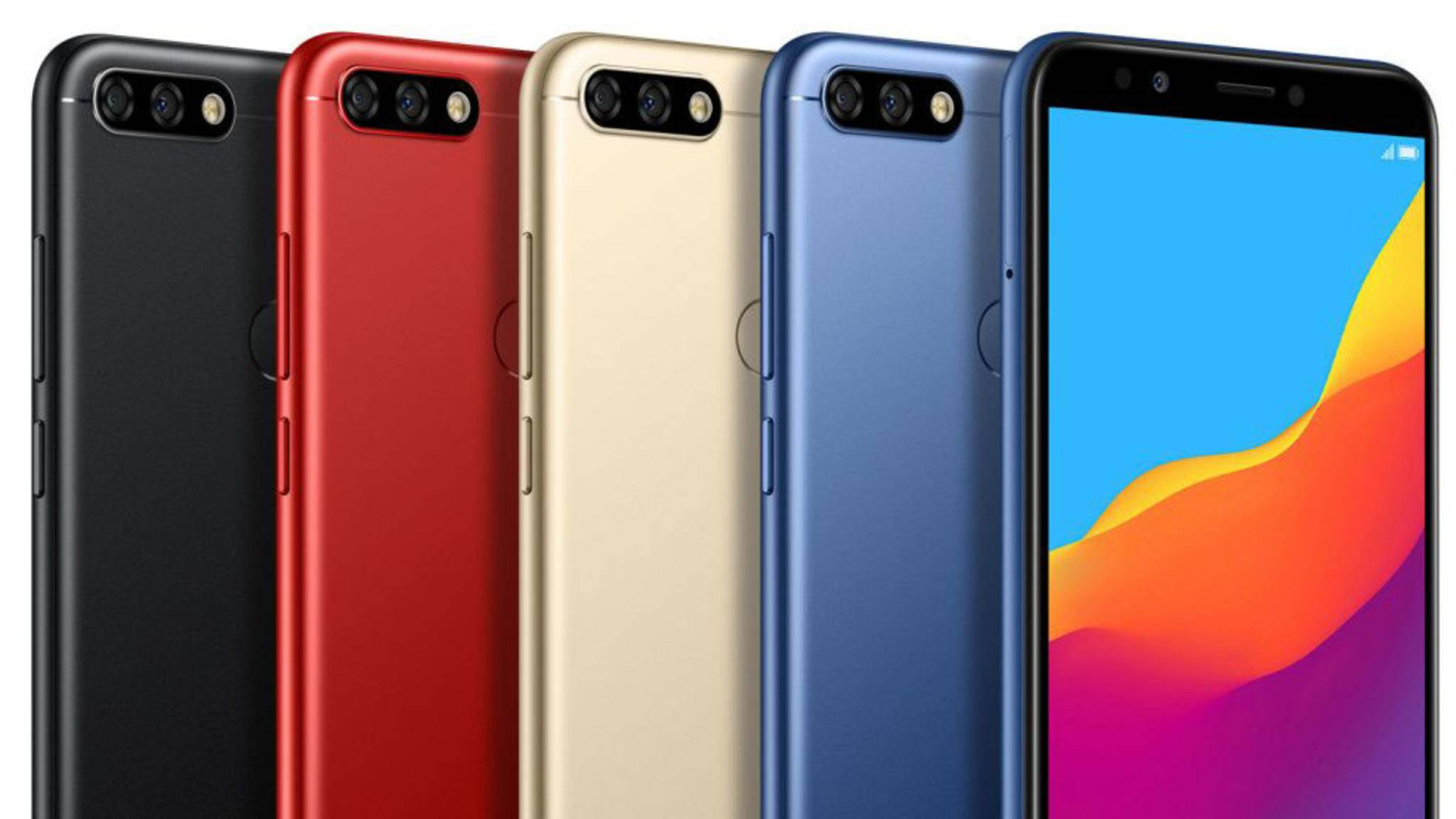 Wurde offiziell vorgestellt: Das neue Einsteiger-Smartphone Honor 7C.