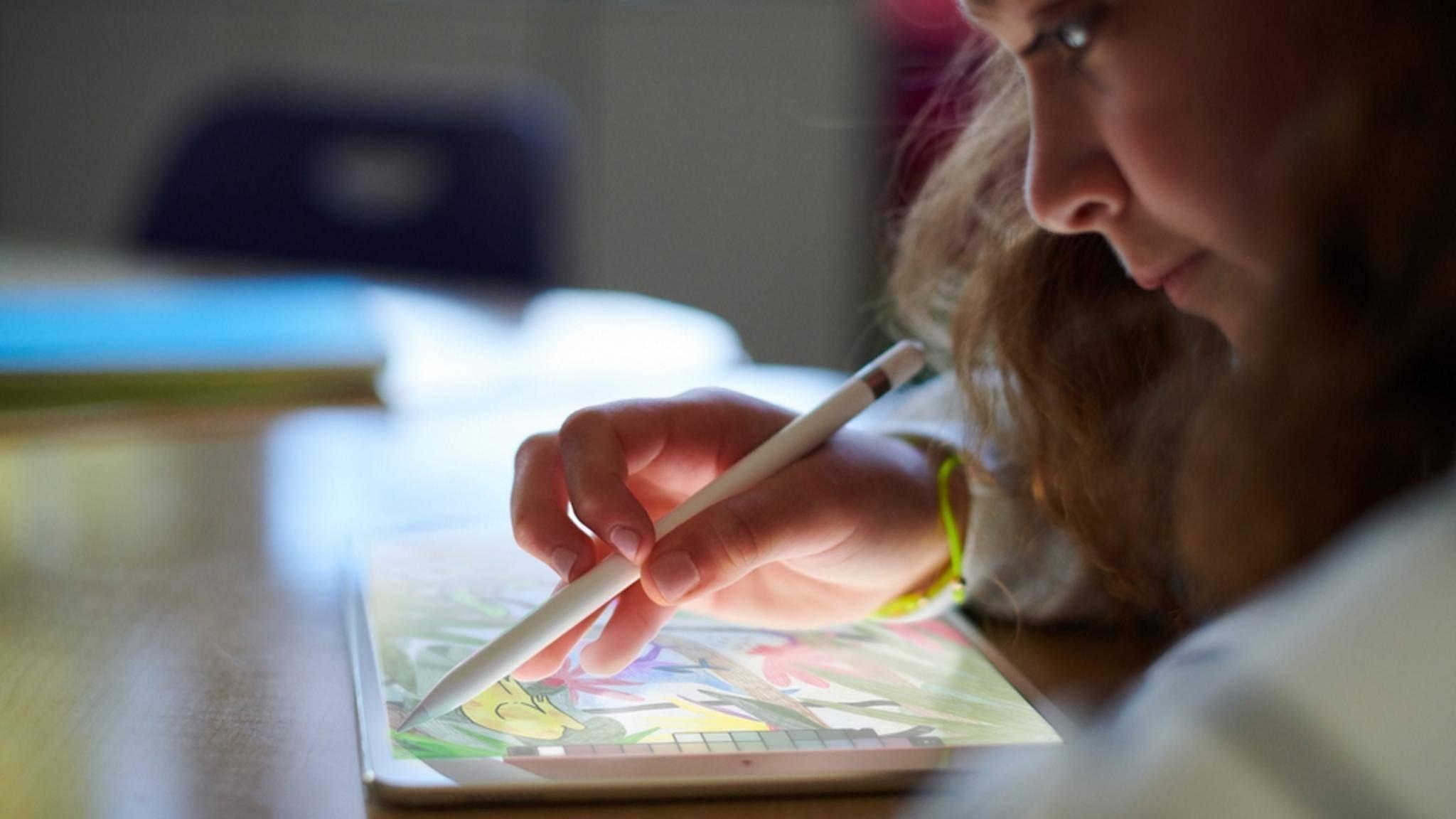 Das iPad (2018) eignet sich auch für Kinder und Kreative.