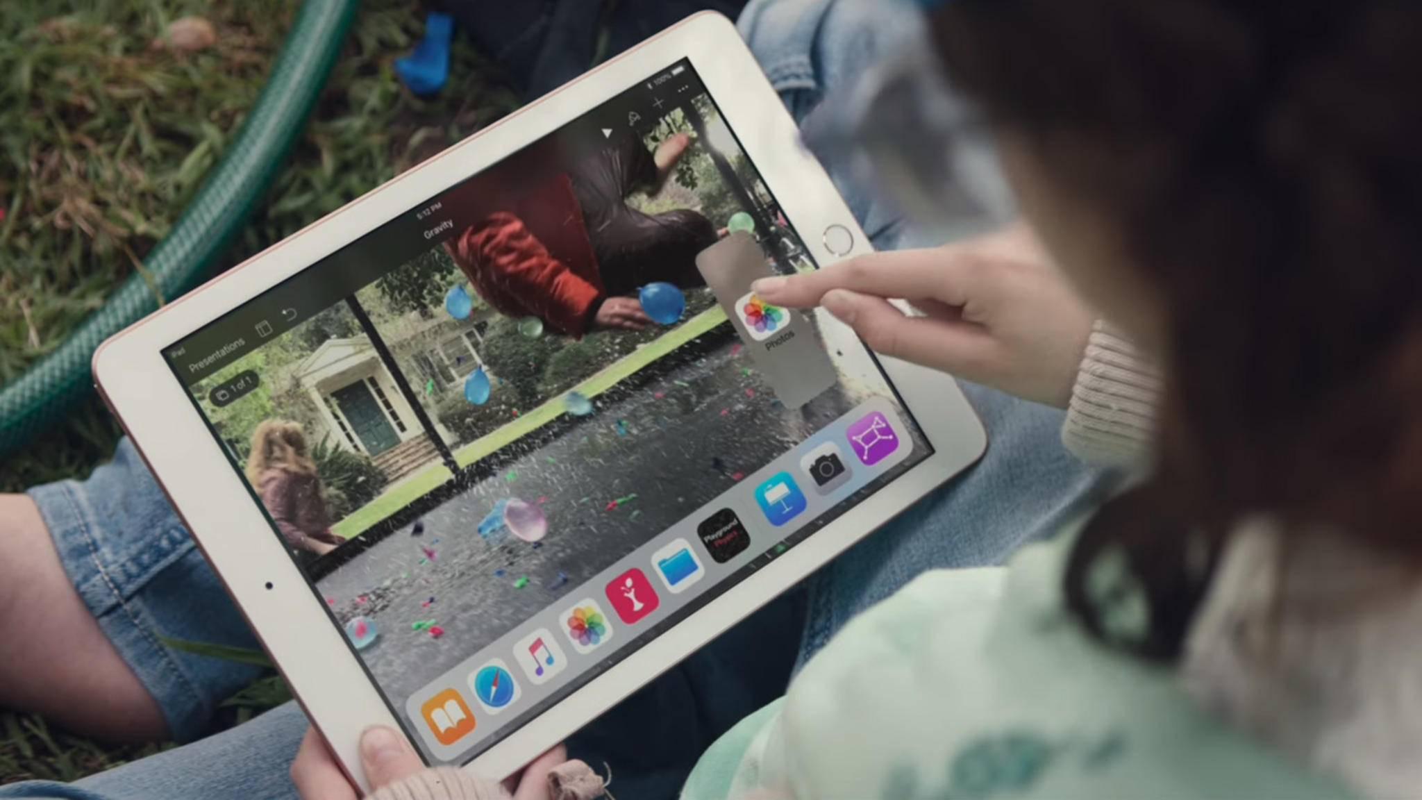 Das neue iPad erhält als erstes Apple-Gerät das Update auf iOS 11.3.