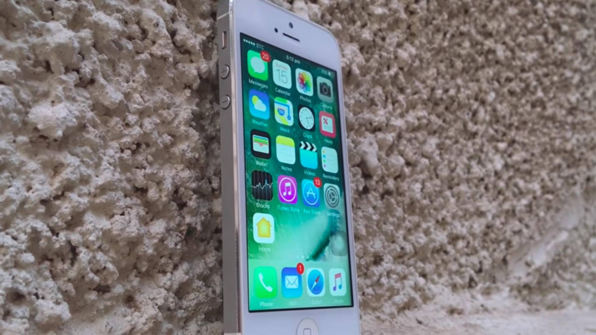 Das iPhone 5 einer chinesischen Mutter ist jetzt für 47 Jahre gesperrt.