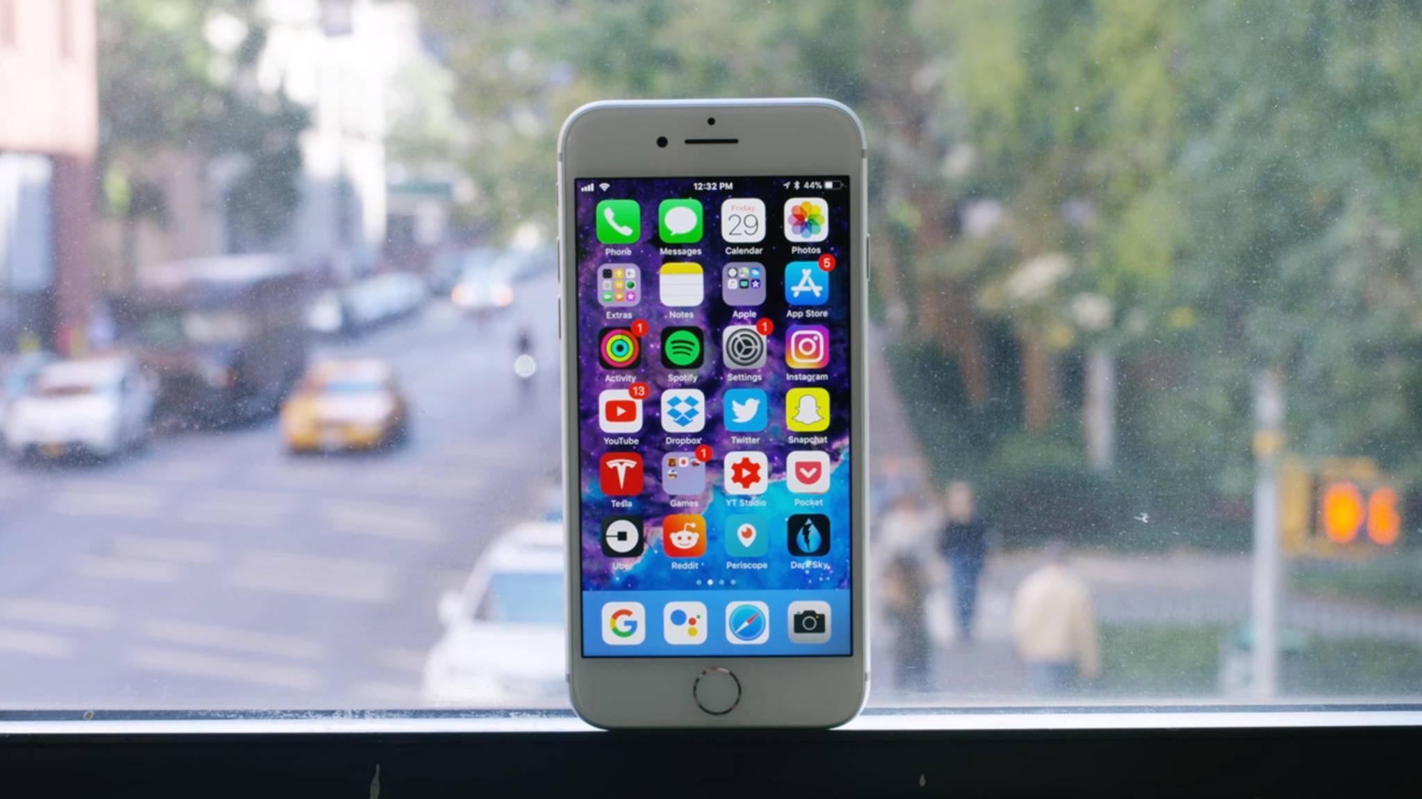 Das iPhone-8-Display kann nach dem Update auf iOS 11.3 Probleme machen.