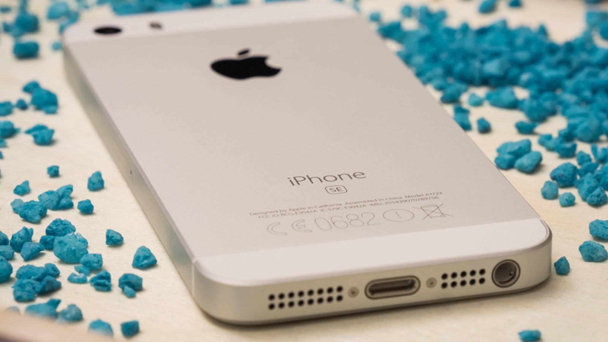 Das Apple iPhone SE ist das handlichste moderne Smartphone.