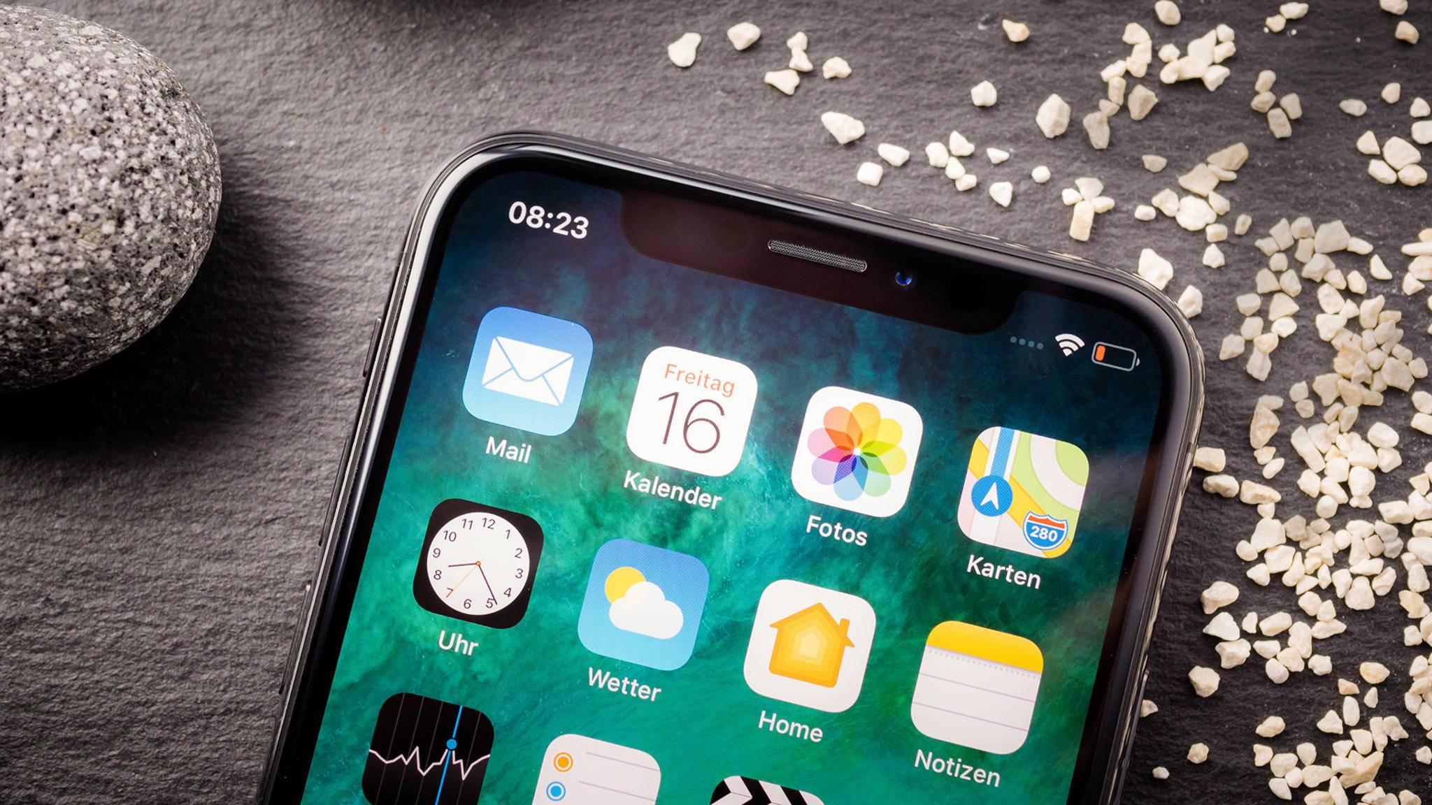 Das iPhone X hat es vorgemacht: Die Kerbe im Display wird immer mehr zum Standard.