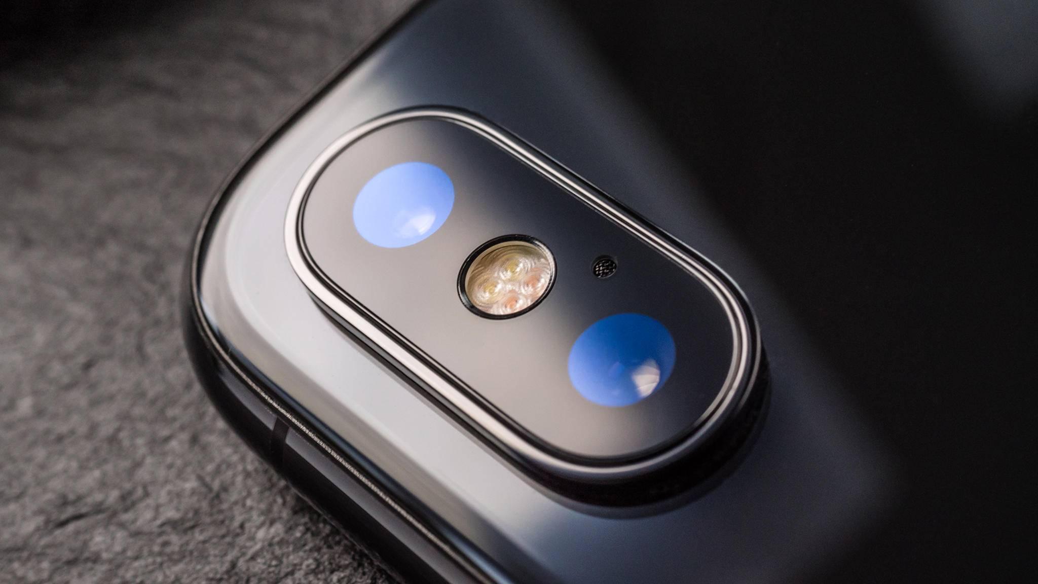 Ist die Rückkamera beim iPhone X besonders empfindlich?