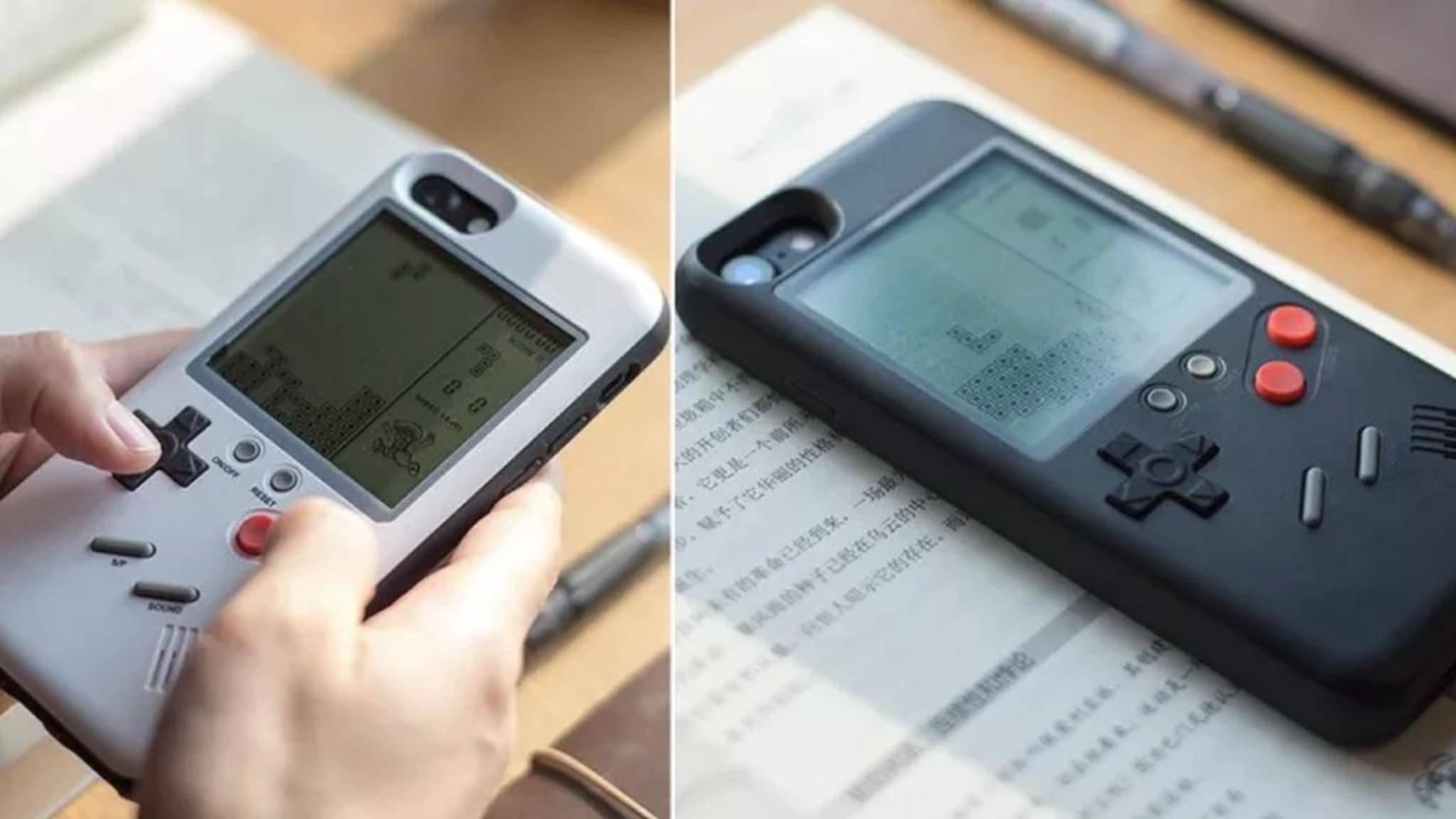 Diese Hülle verwandelt das iPhone X in einen Game Boy.