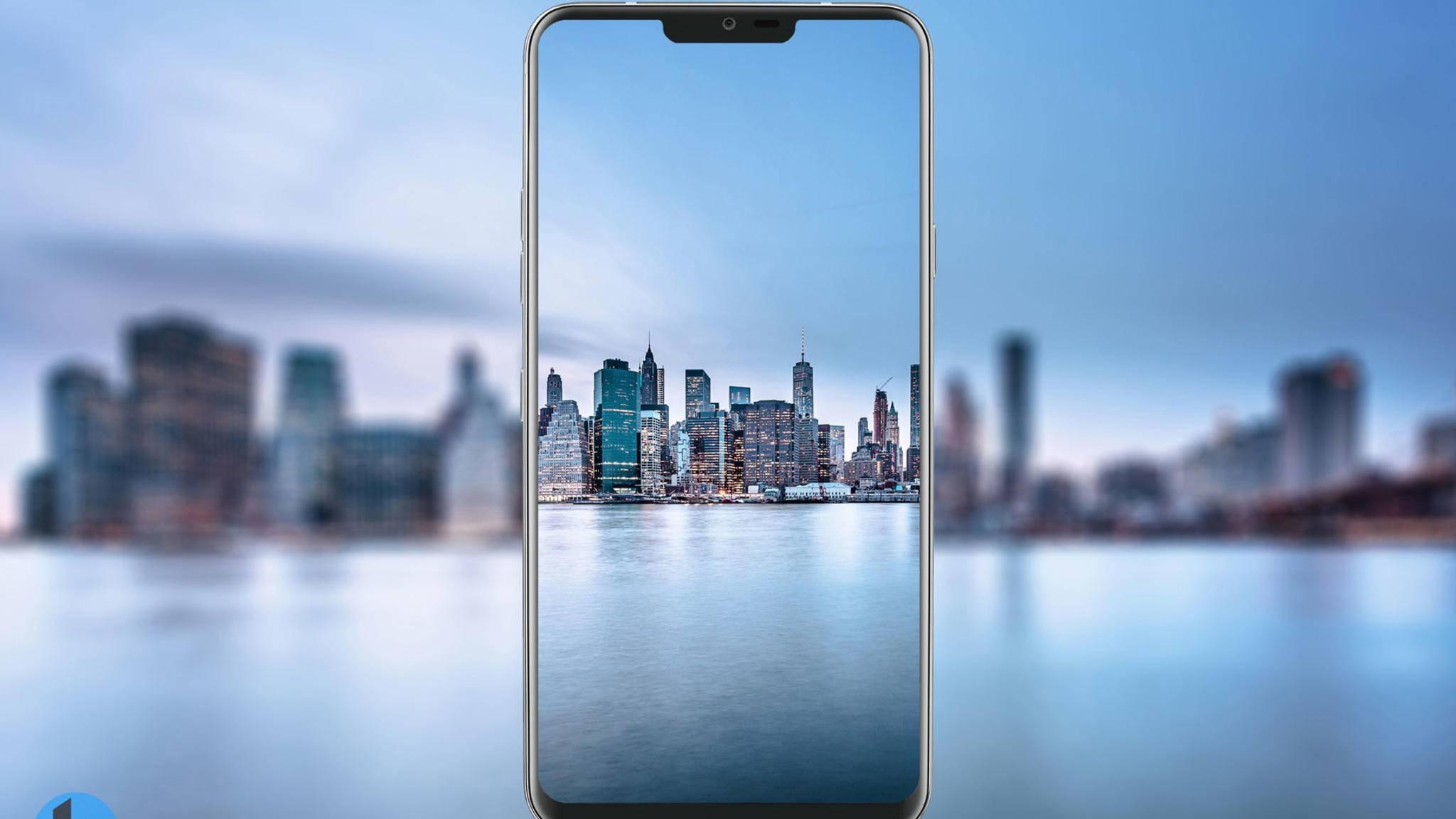 Das LG G7 könnte als ThinQ-Gerät auf den Markt kommen.